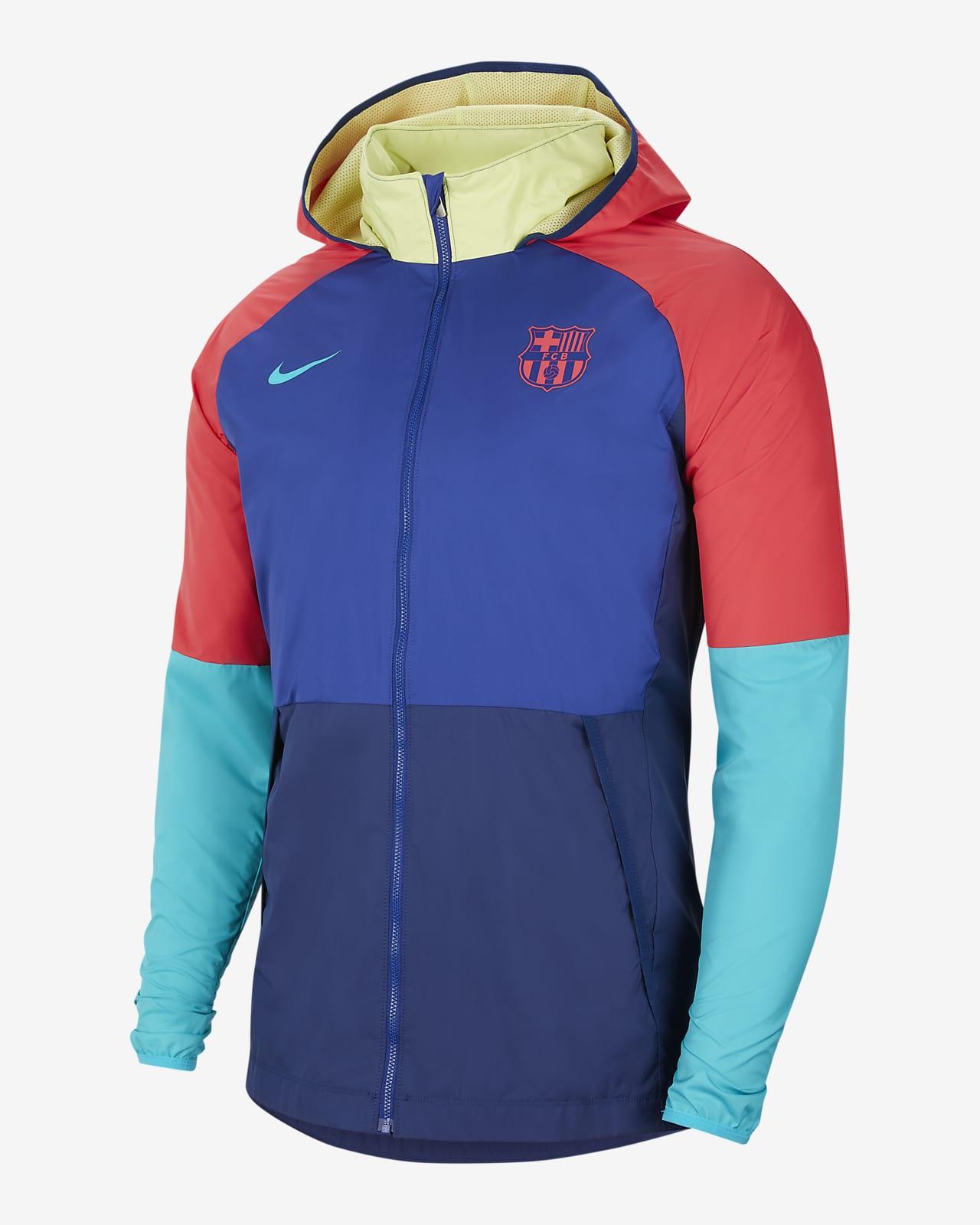 FC Barcelona mintás férfi futballkabát