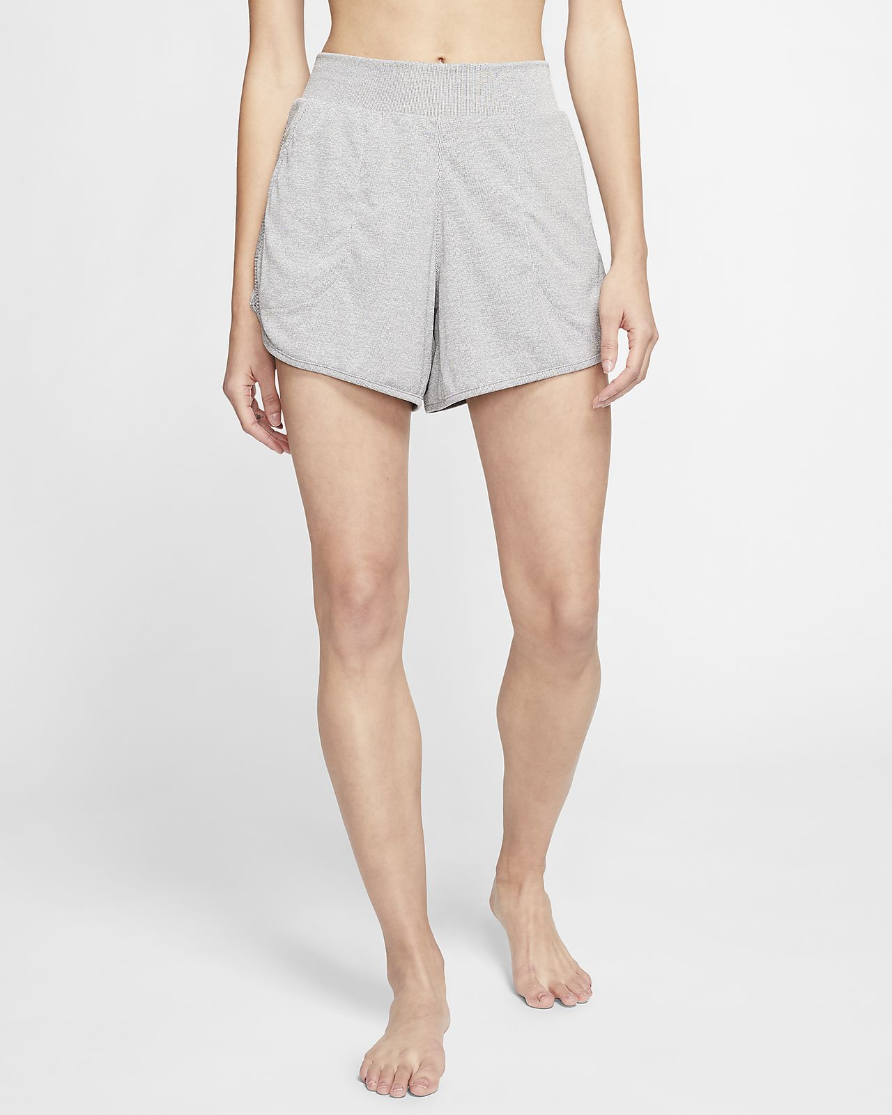 Nike Yoga Women S Ribbed Shorts Nike At