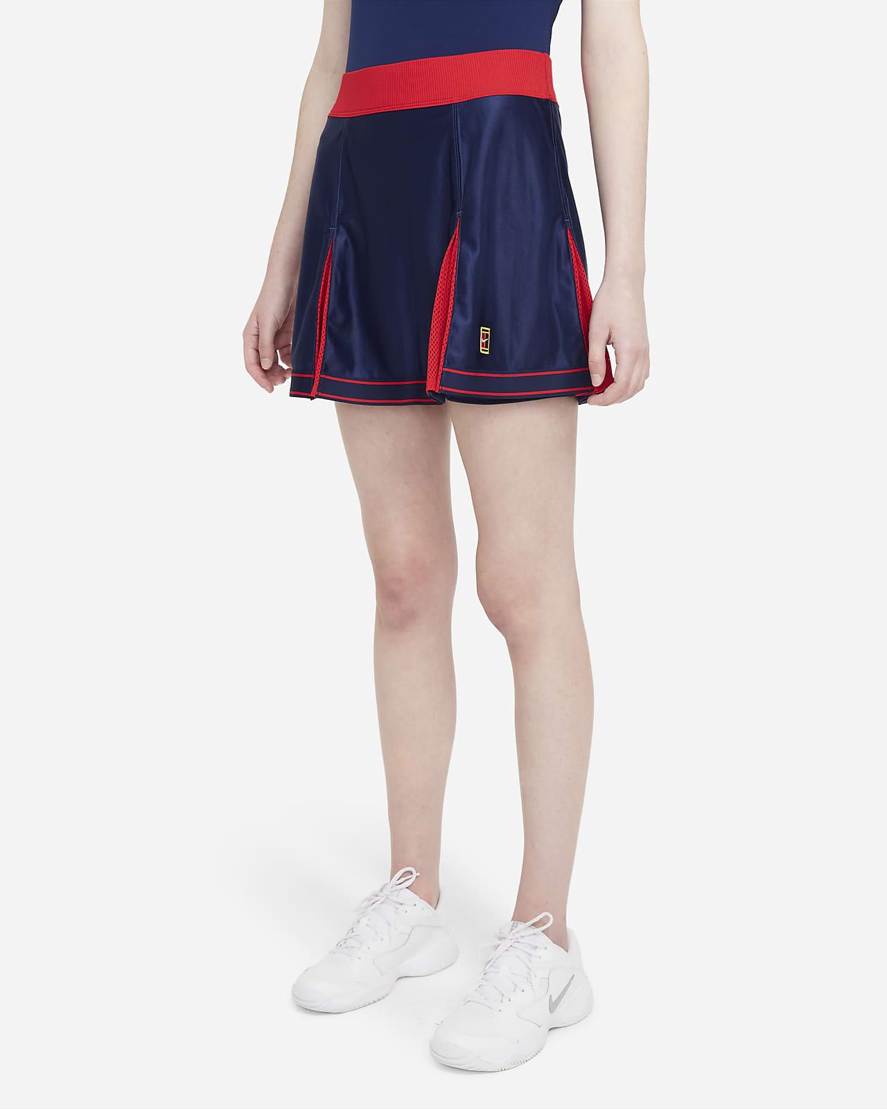 NikeCourt Dri-FIT Slam Faldilla de tennis - Dona