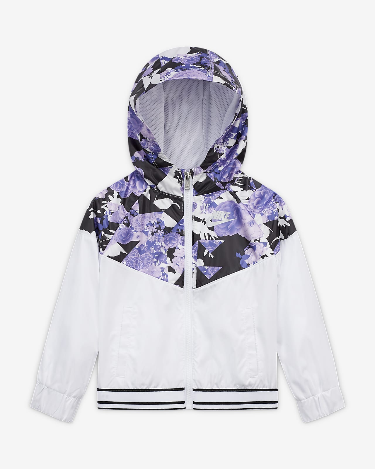 Giacca con zip a tutta lunghezza Nike Sportswear Windrunner - Bimbi piccoli