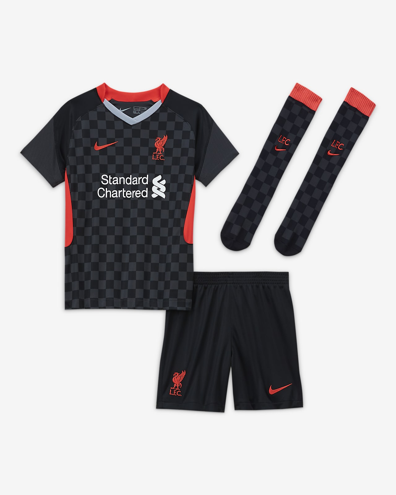 Liverpool F.C. Third Younger Kids' Football Kit