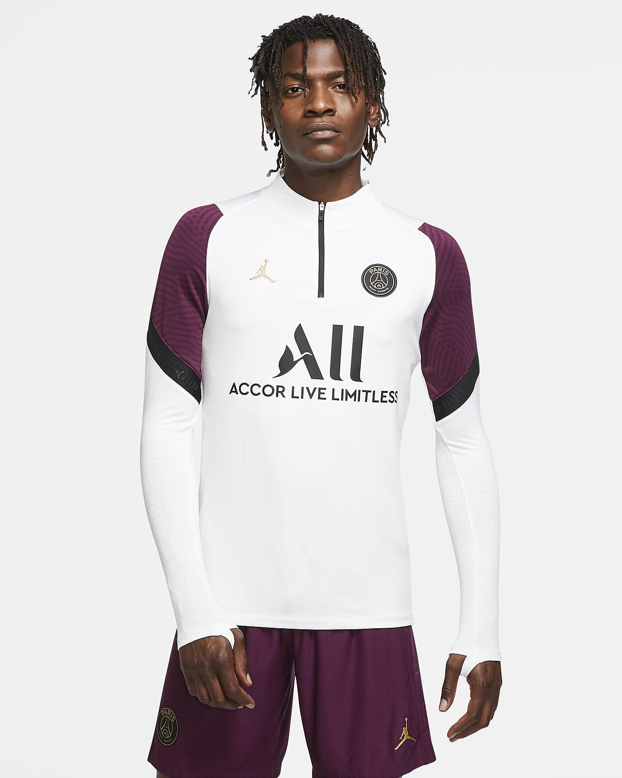 Paris Saint-Germain Strike Drill-Fußballoberteil für Herren