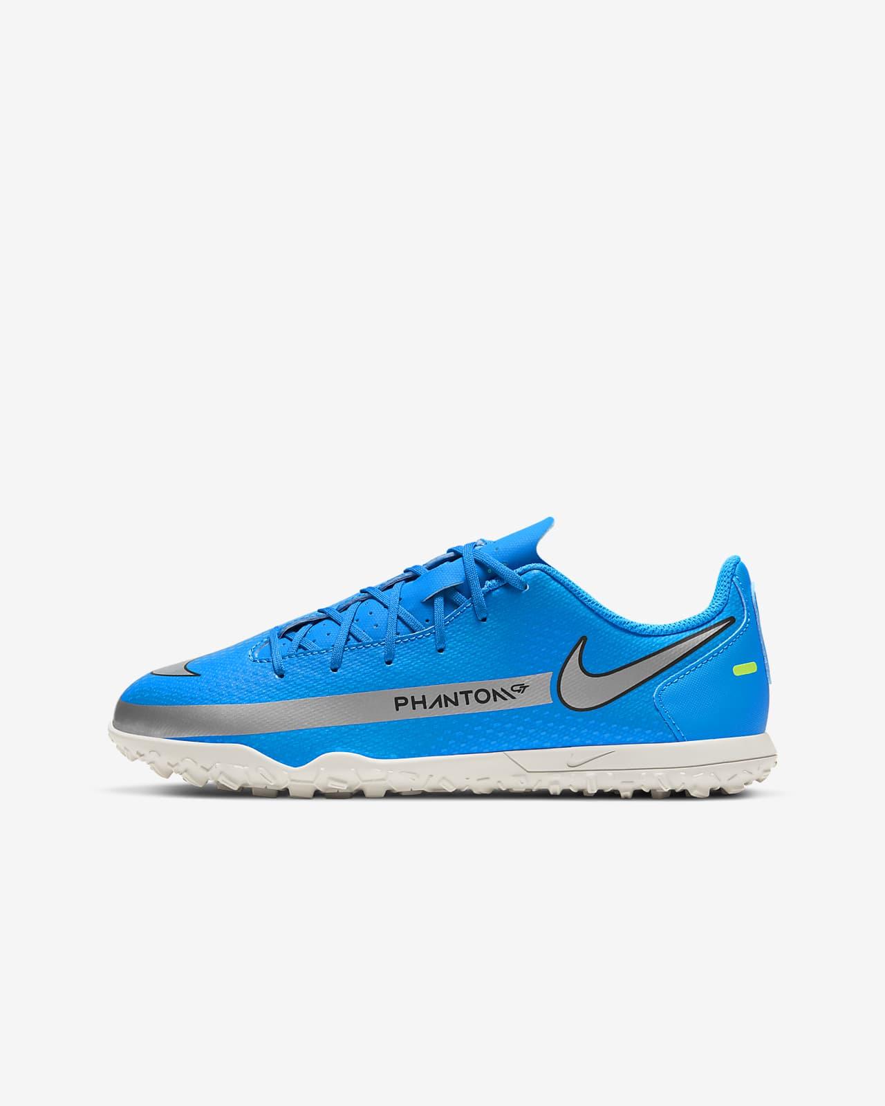 Nike Jr. Phantom GT Club TF fotballsko for grus/turf til små/store barn