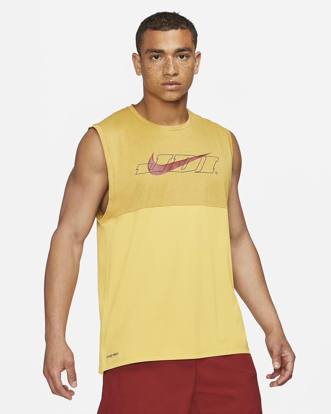 Haut sans manches à motif Nike Pro Dri-FIT Sport Clash pour Homme