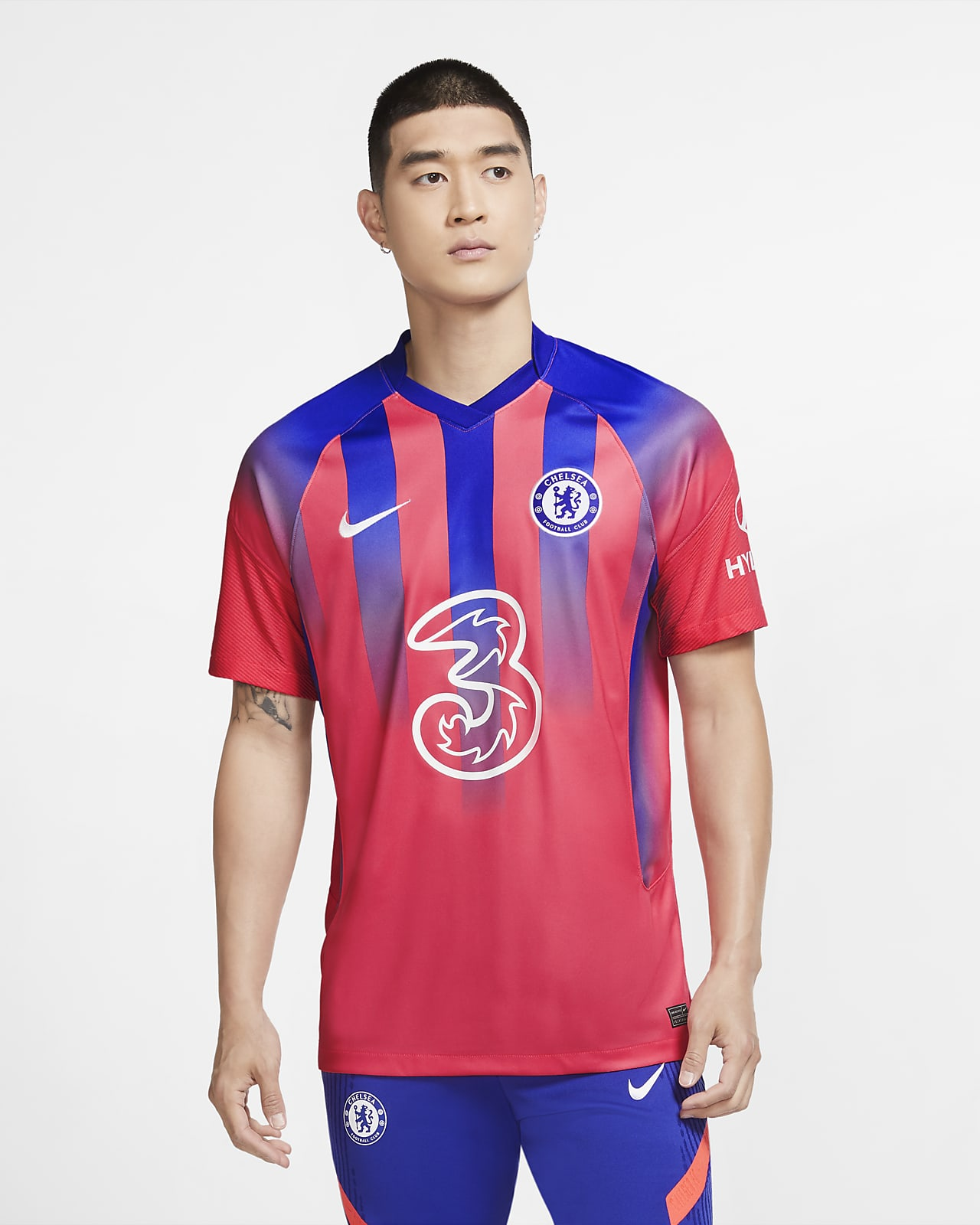 Camiseta de fútbol alternativa para hombre Stadium del Chelsea FC 2020/21