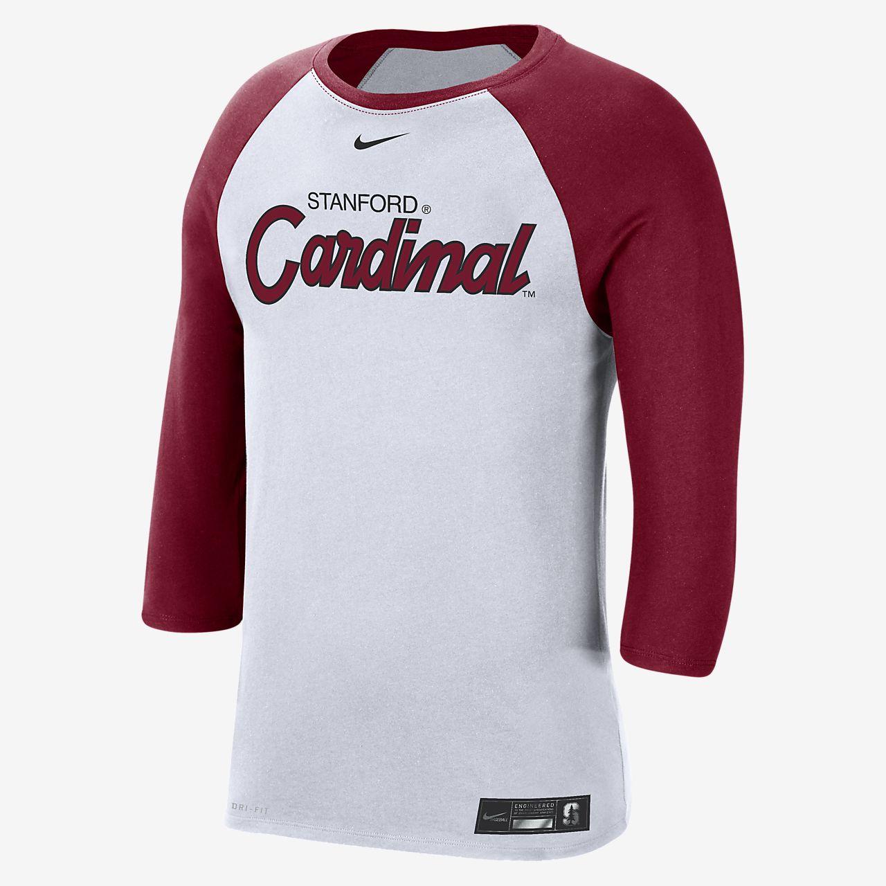 Nike College Dri-FIT (Stanford) Men's 3/4-Sleeve T-Shirt