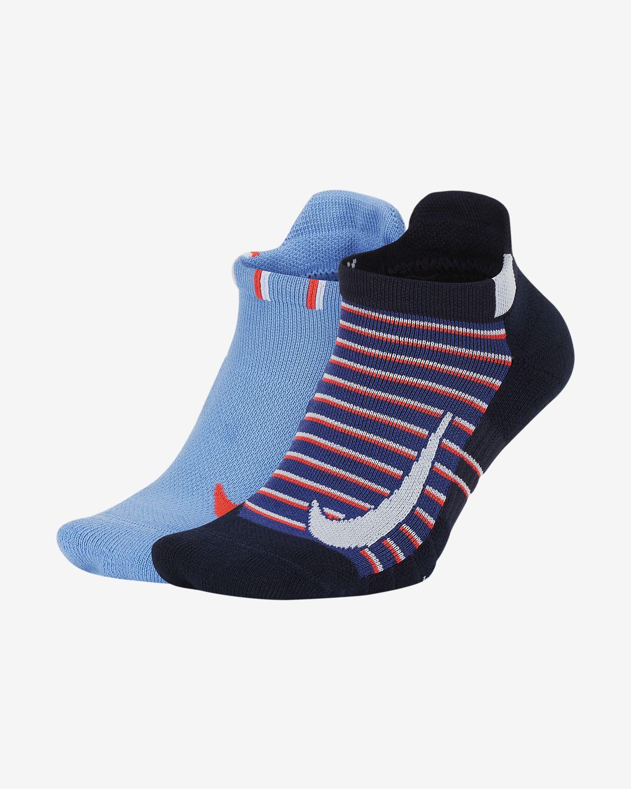 NikeCourt Multiplier Max Tennis No-Show Socks (2 Pairs)