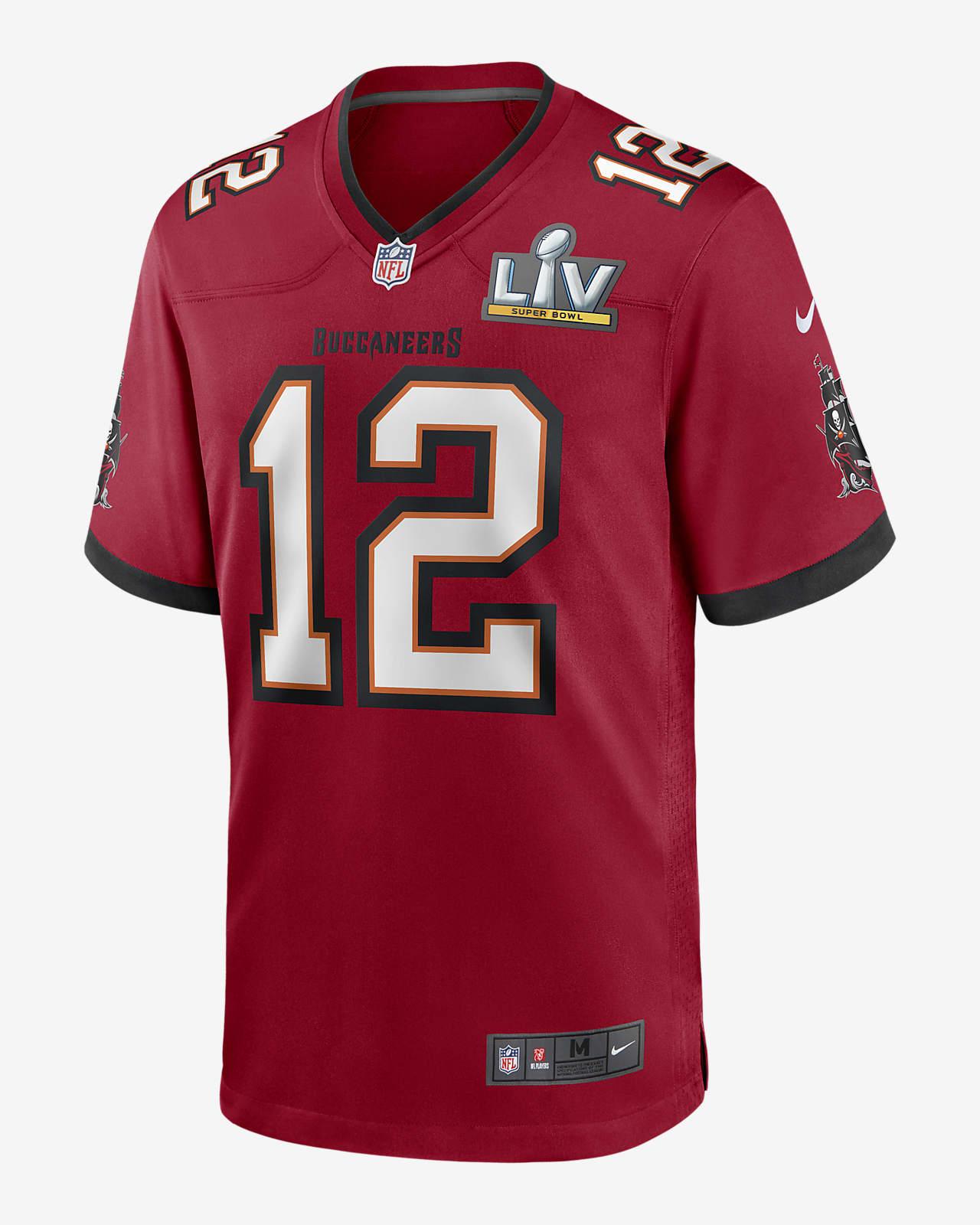 NFL Tampa Bay Buccaneers Super Bowl LV (Tom Brady) Men's Game Football Jersey