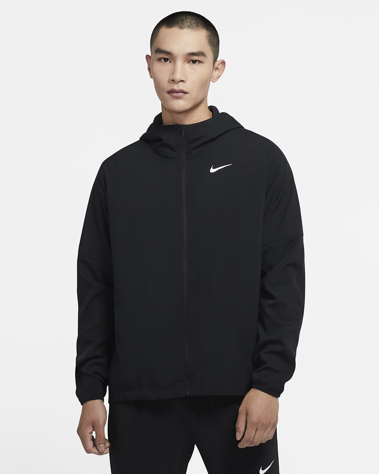 เสื้อแจ็คเก็ตวิ่งผู้ชายแบบทอ Nike Run