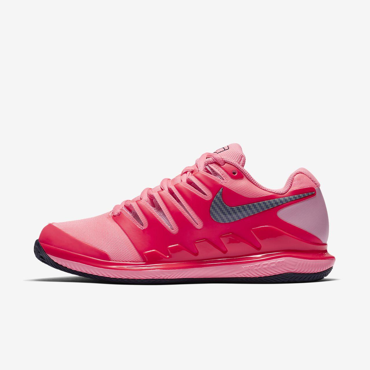 Scarpa da tennis per campi in terra rossa NikeCourt Air Zoom Vapor X Donna
