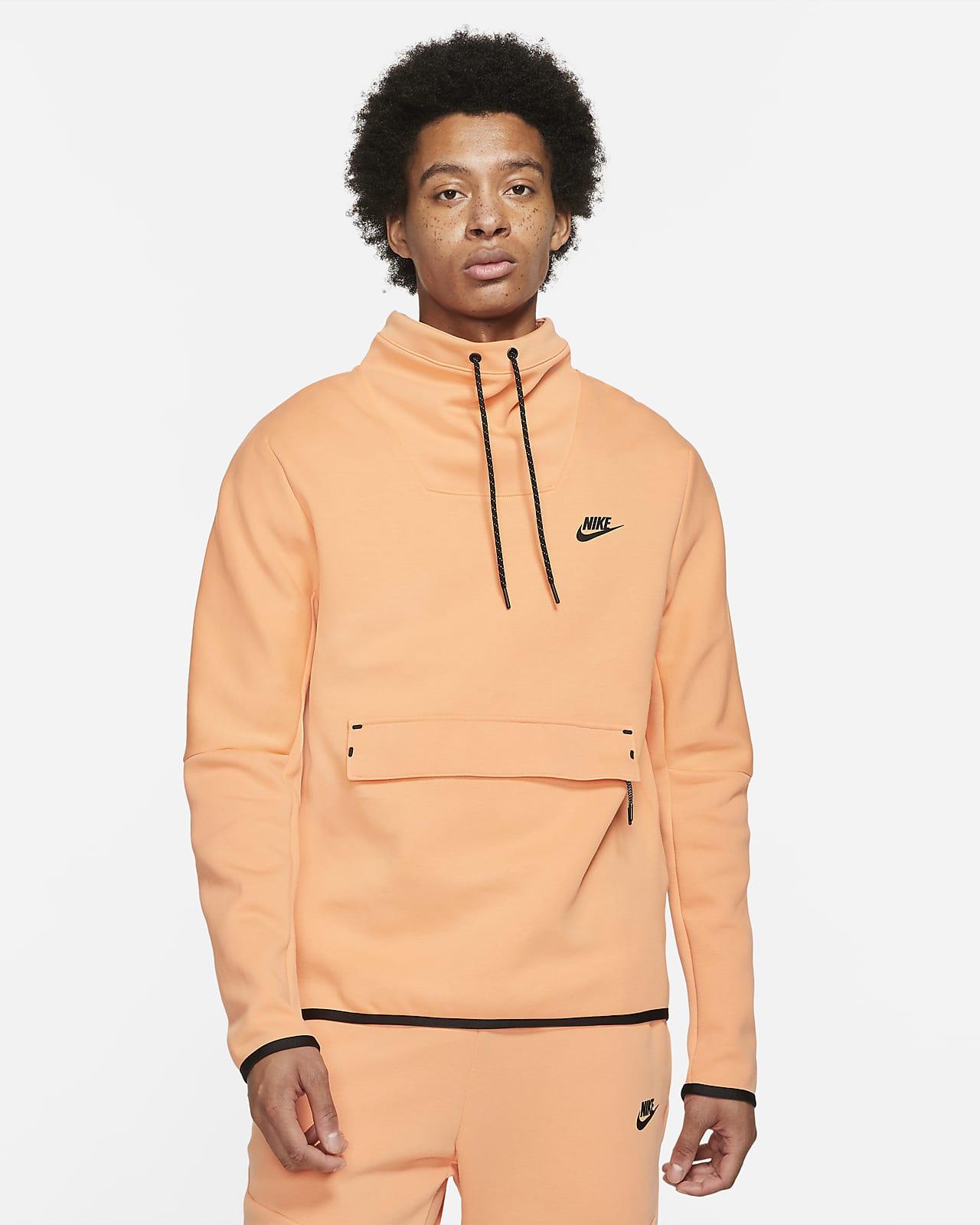 Nike Sportswear Tech Fleece Part superior de coll d'embut de màniga llarga - Home
