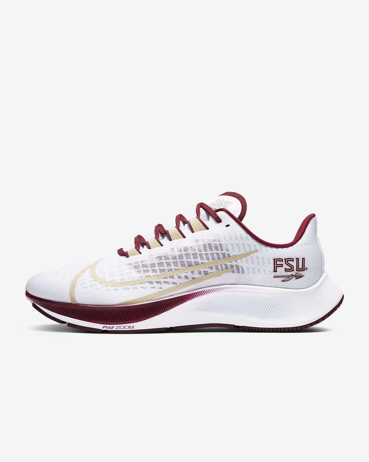 Nike College Zoom Pegasus 37 (Florida State) Running Shoe