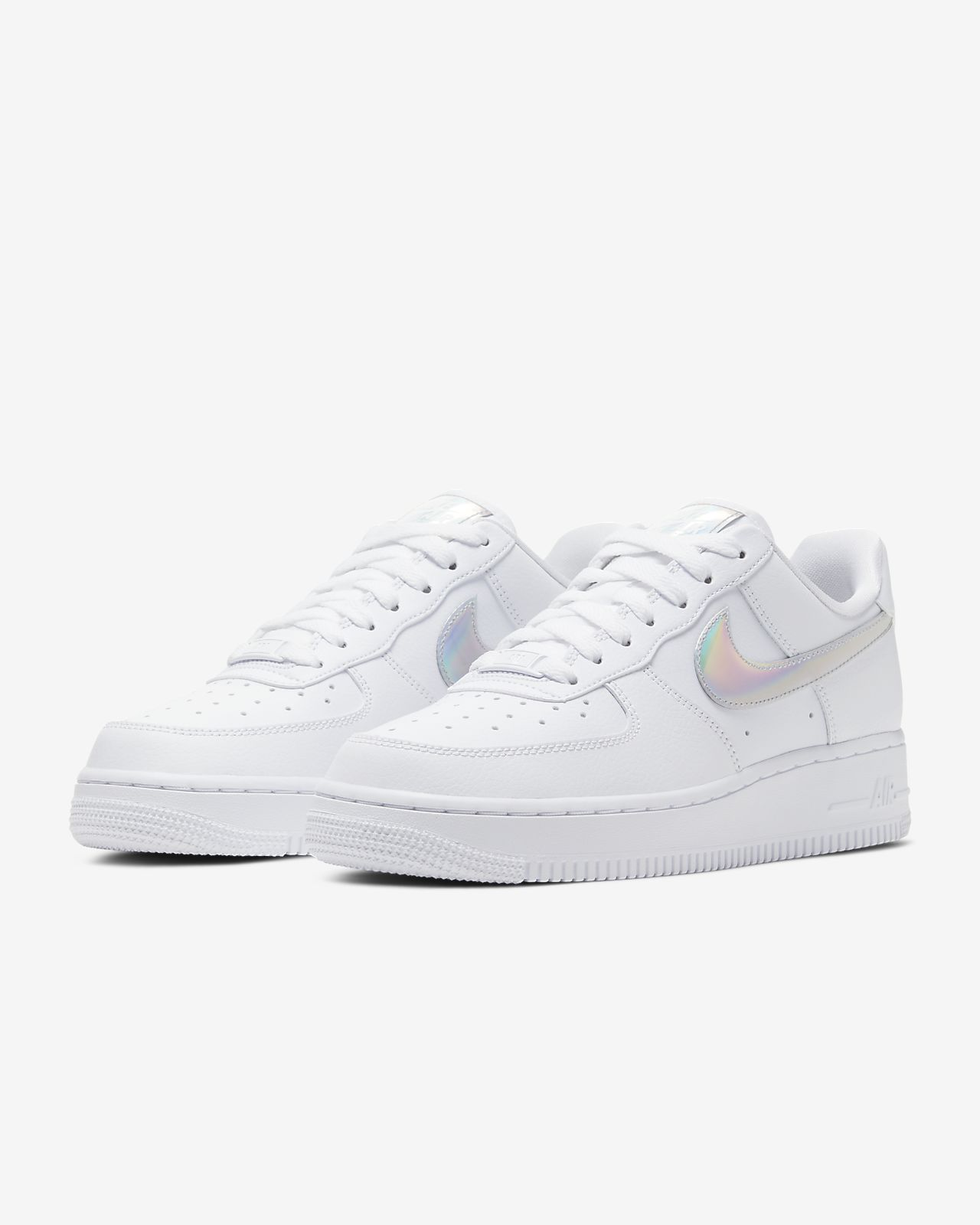 Nike Air Force 1 Low 'Stars' Triple White For Sale