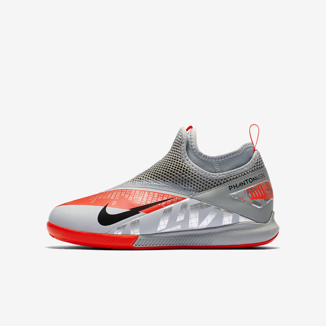 Nike Jr. Phantom Vision 2 Academy Dynamic Fit IC Younger/Older Kids' Indoor Court Football Shoe