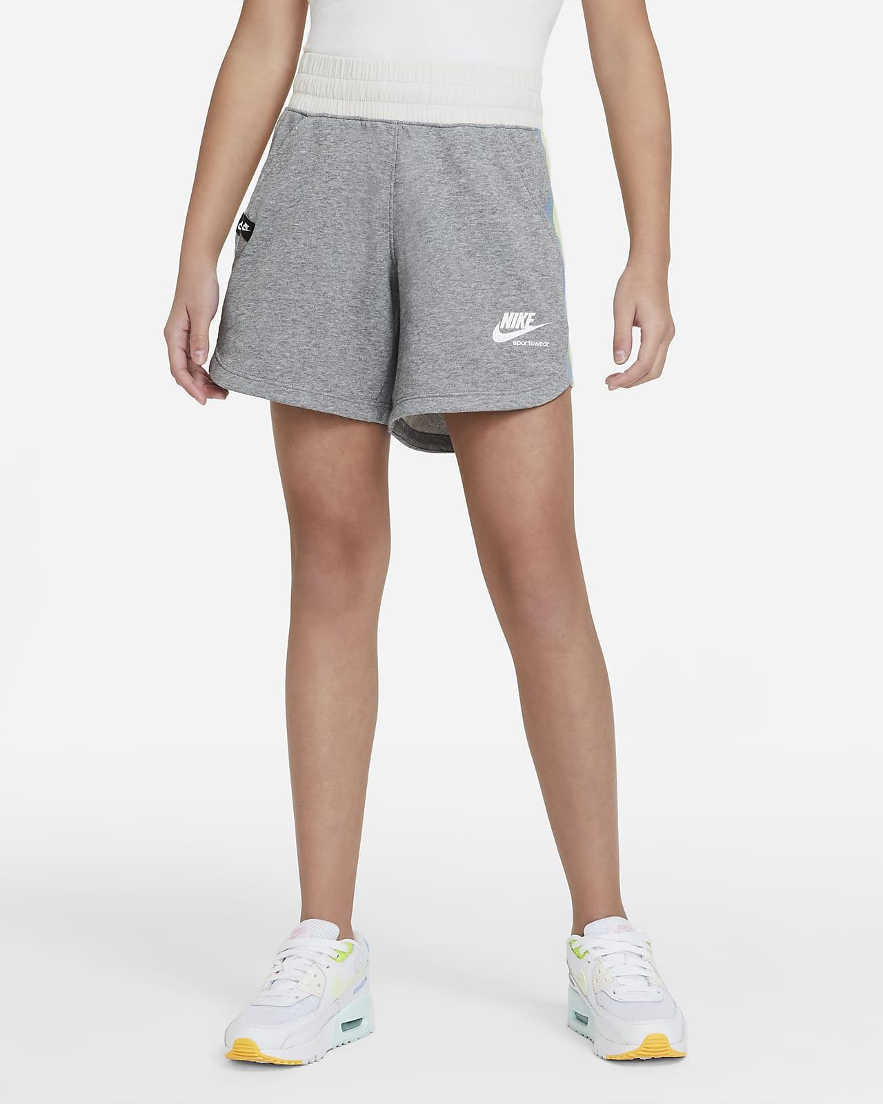 Nike Sportswear Heritage 大童(女孩)短裤