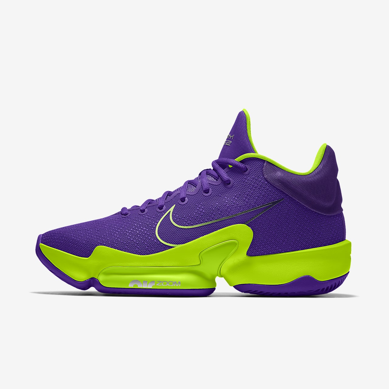 Nike Zoom Rize 2 By You personalisierbarer Basketballschuh