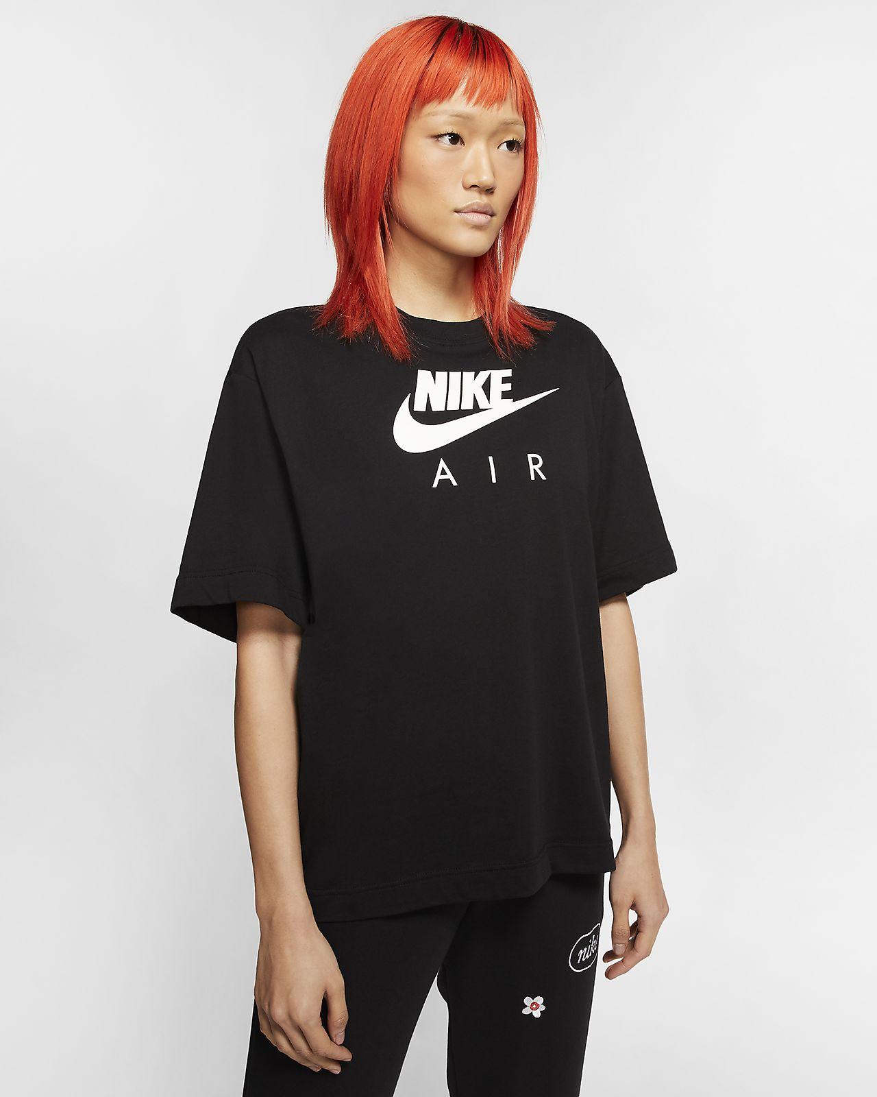 Camiseta de manga corta para mujer Nike Air