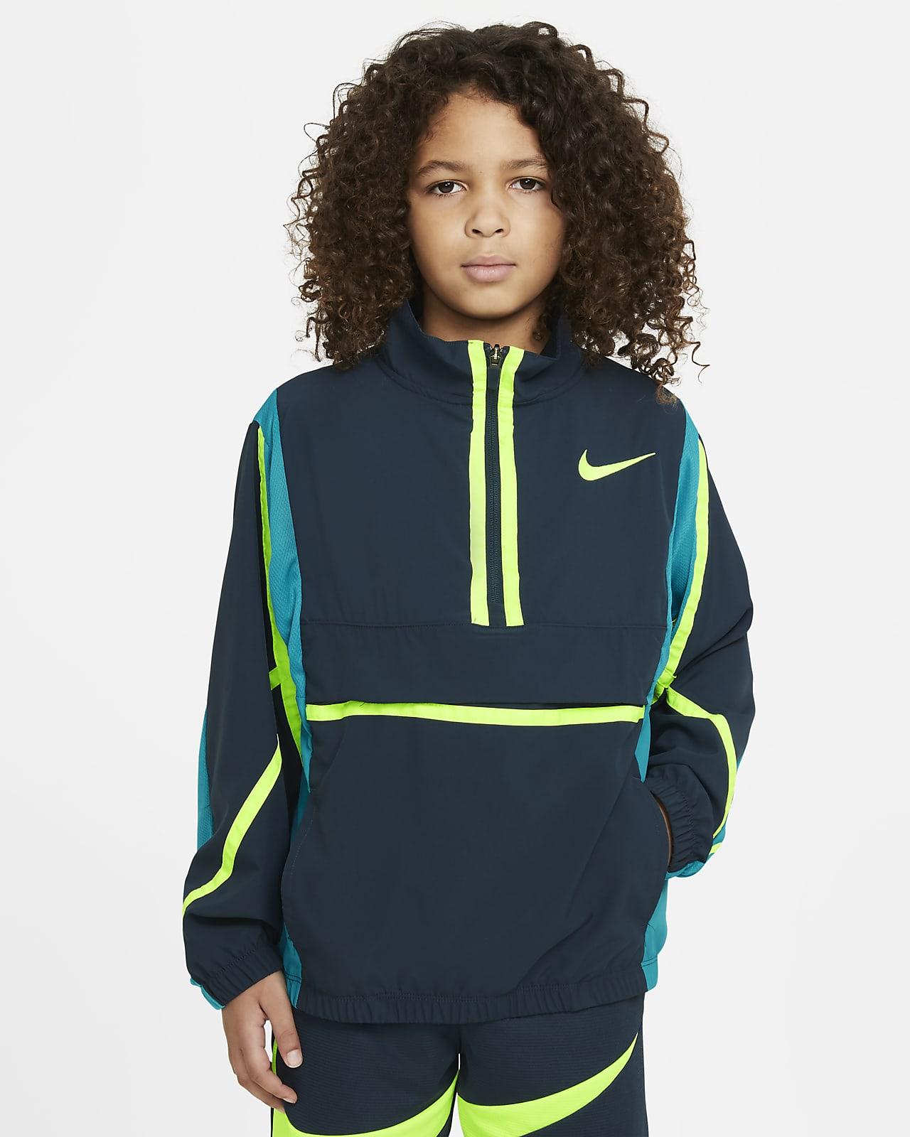 Casaco de basquetebol Nike Crossover Júnior (Rapaz)