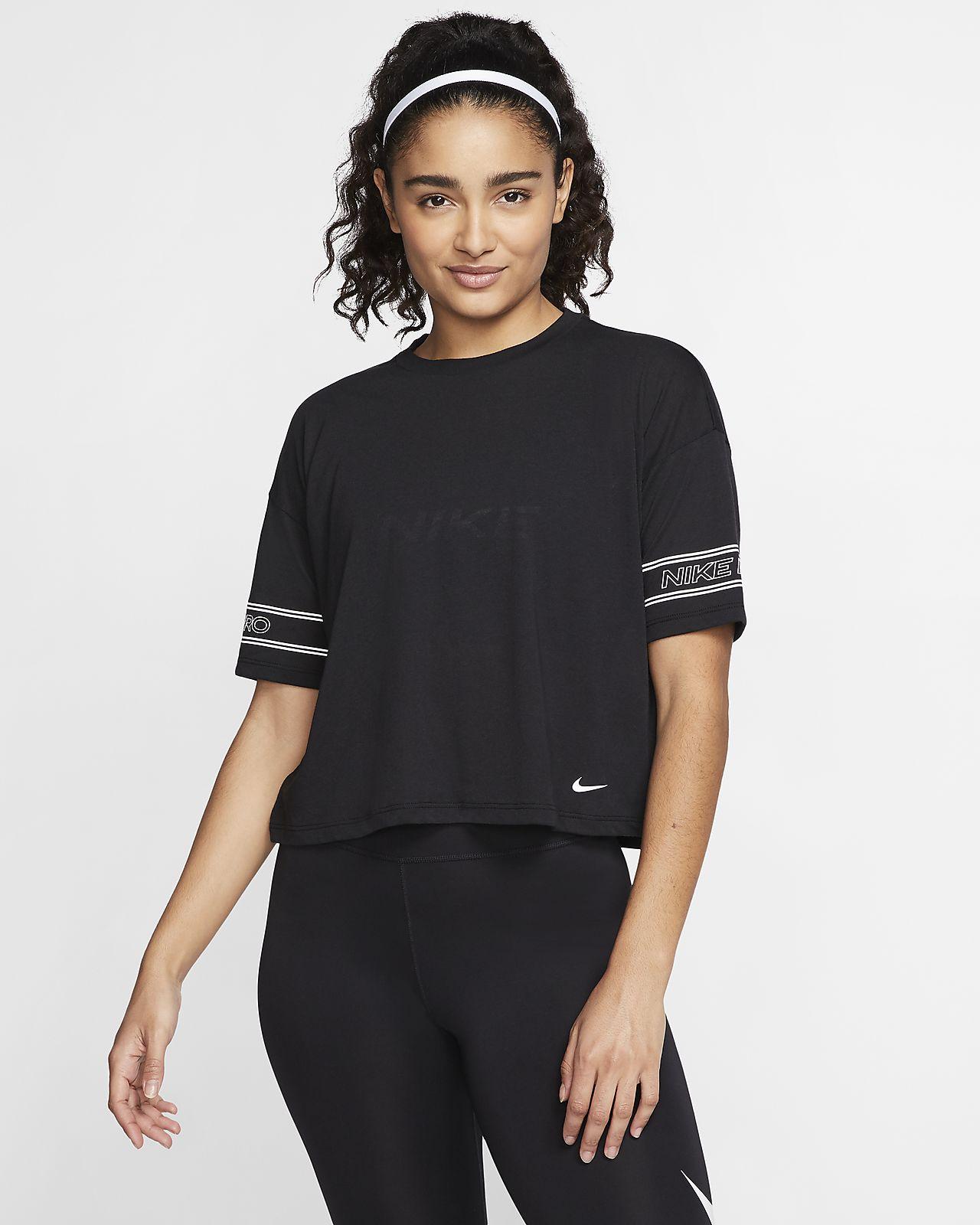Женская футболка с коротким рукавом и графикой Nike Pro