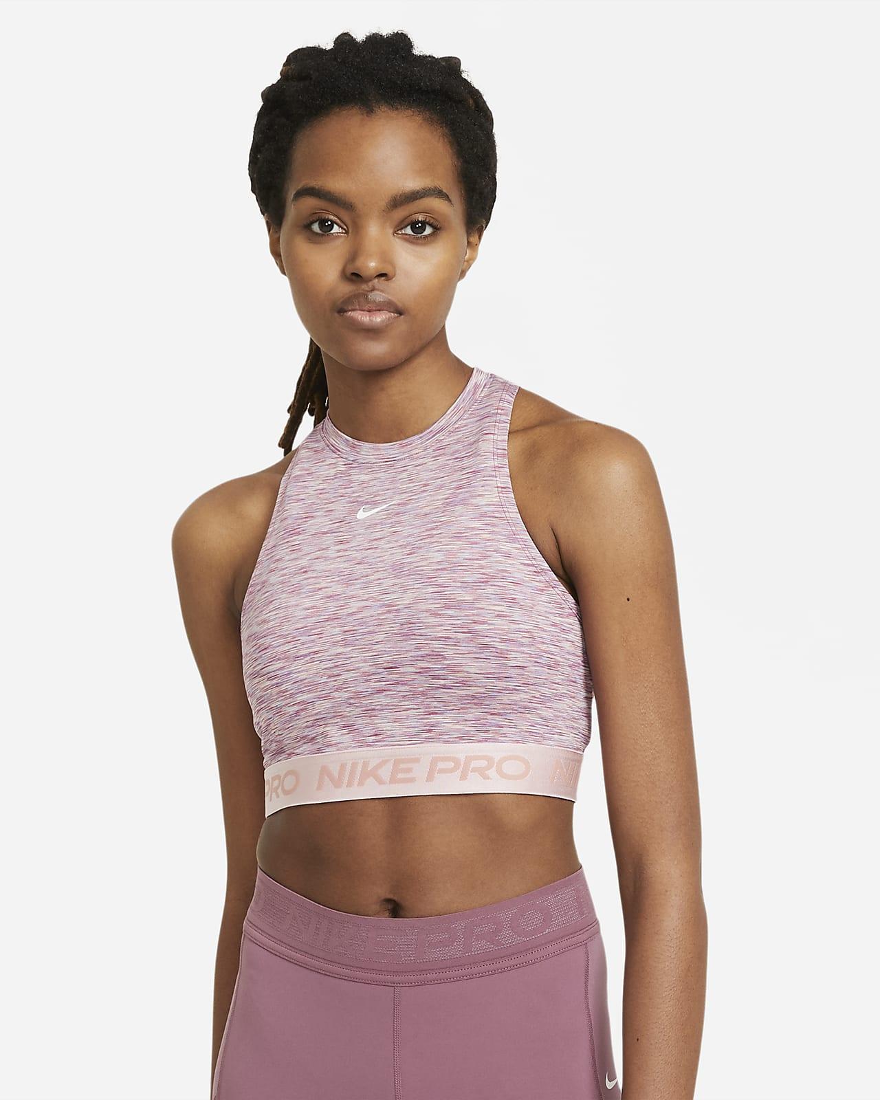 Nike Pro Space-Dye Camiseta de tirantes - Mujer