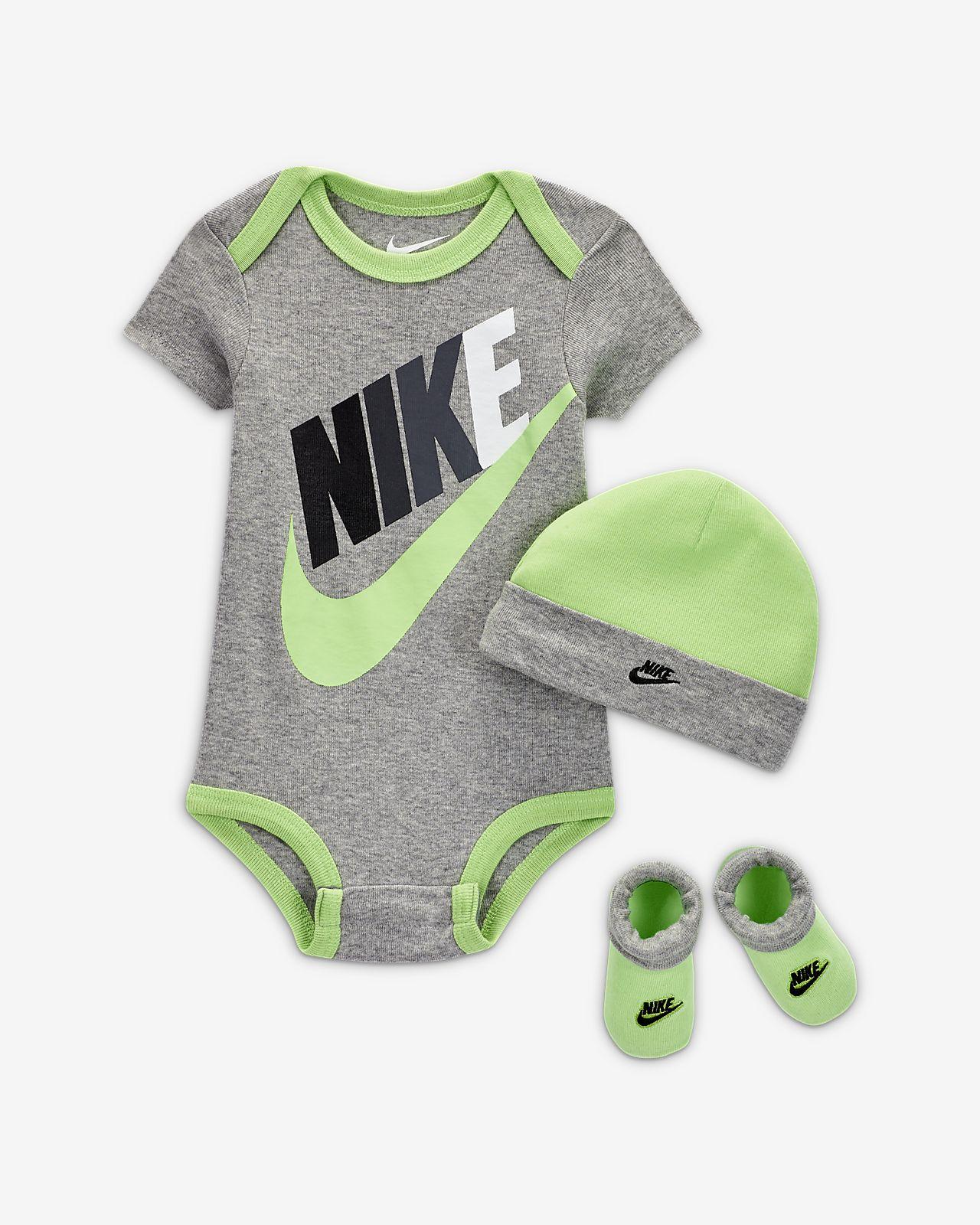 NIKE Sportswear Set, 3er Pack, Body, Mütze, Schuhe, für