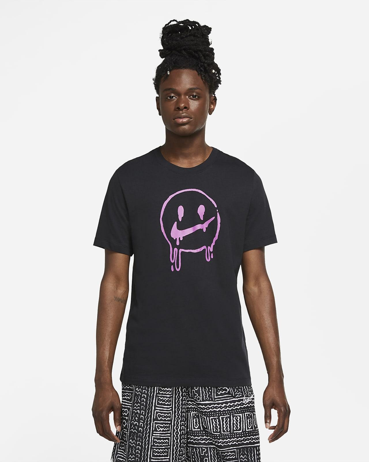 """เสื้อยืดบาสเก็ตบอลผู้ชาย Nike """"Peace, Love, Basketball"""""""