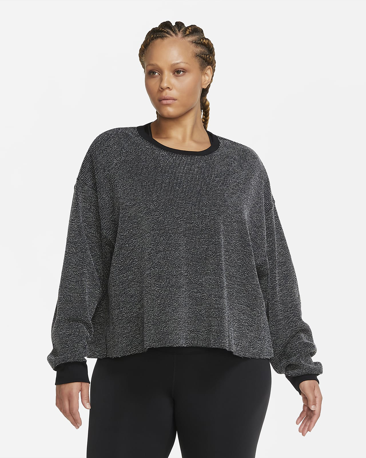 Nike Yoga Dessuadora (talles grans) - Dona