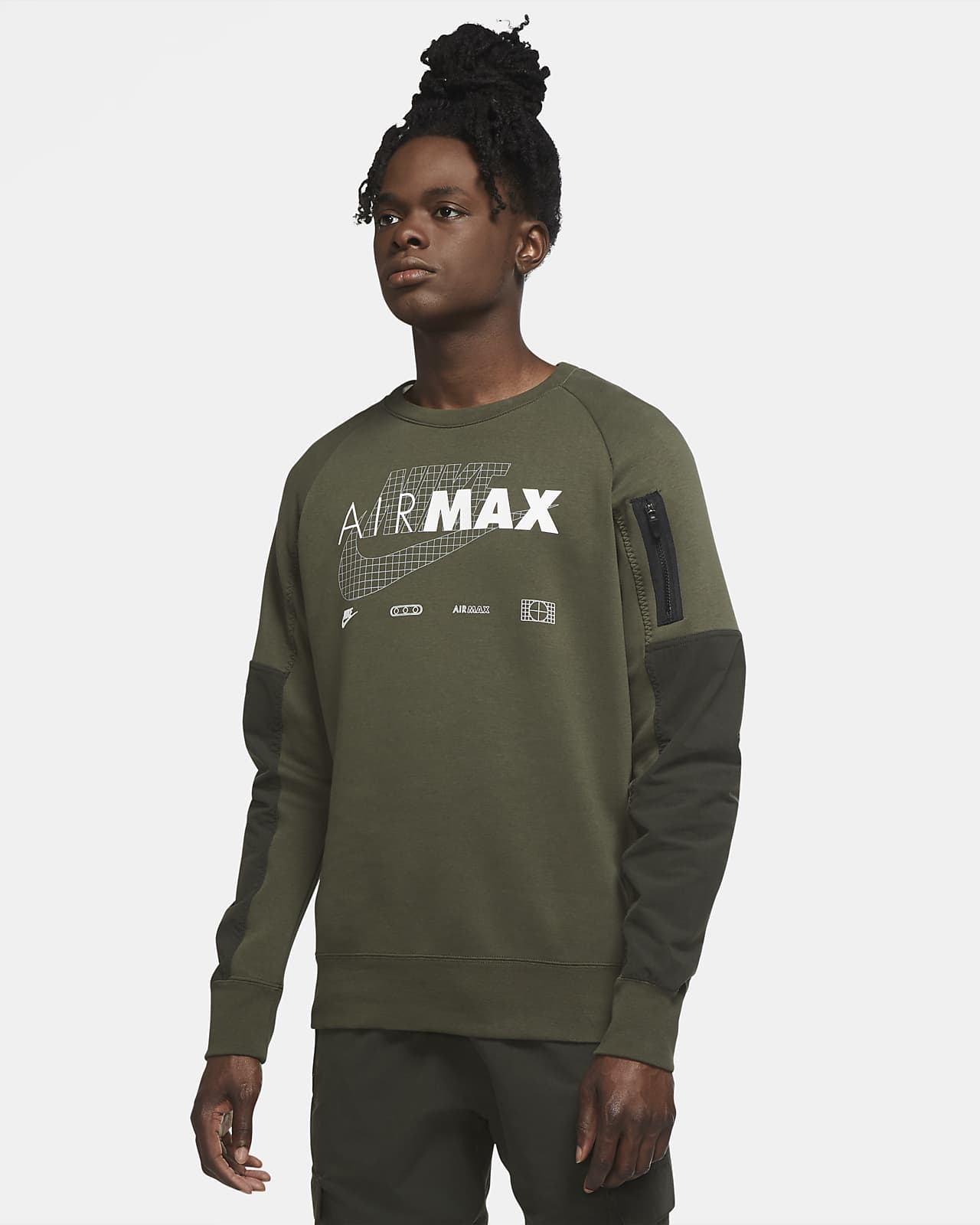 Nike Sportswear Air Max Men's Fleece Crew