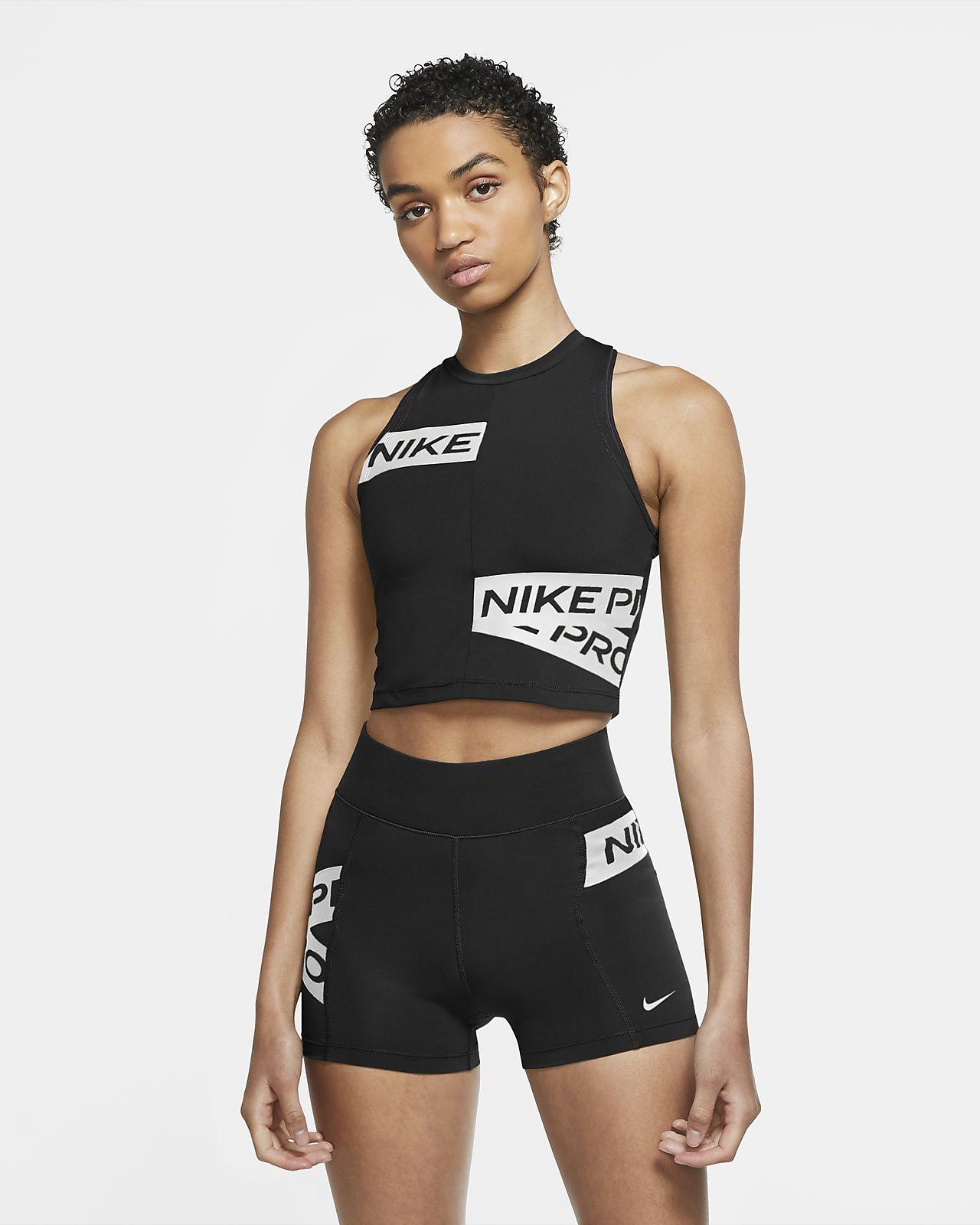 Nike Pro Damen-Tanktop mit Grafik