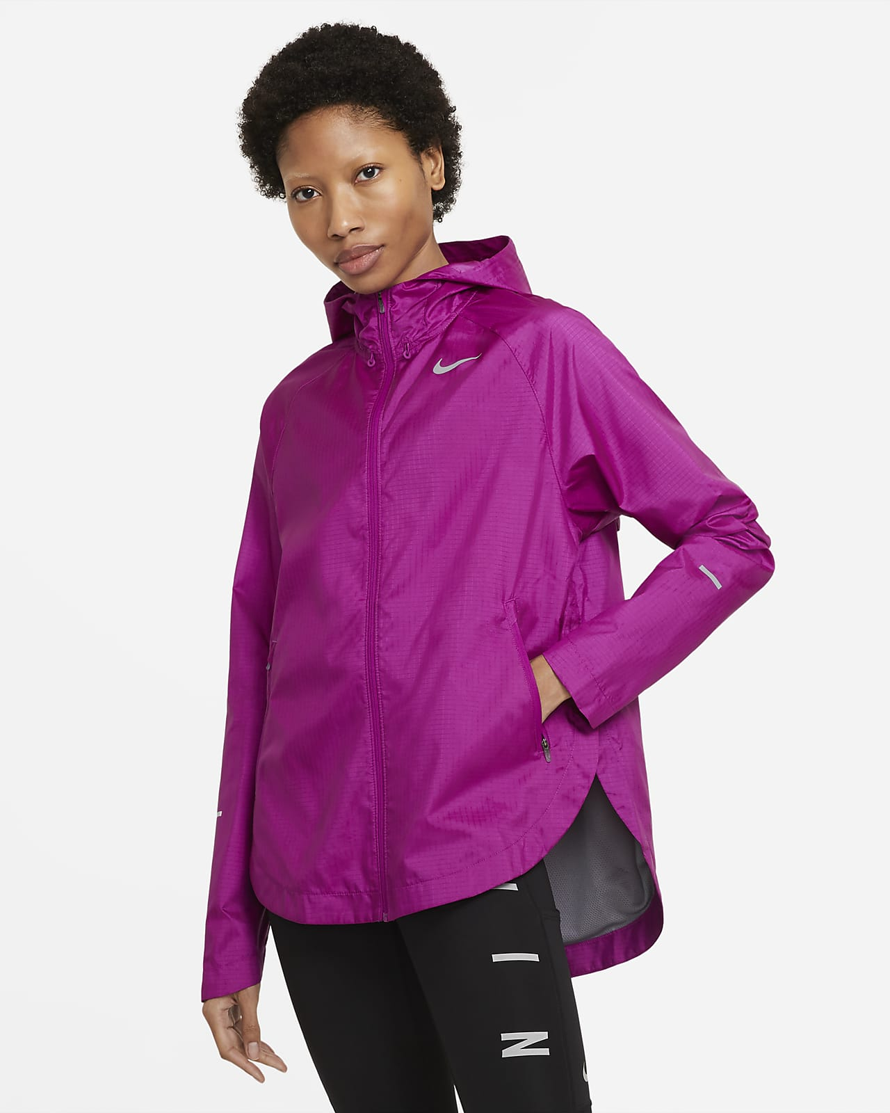 Nike Essential Run Division løpejakke til dame