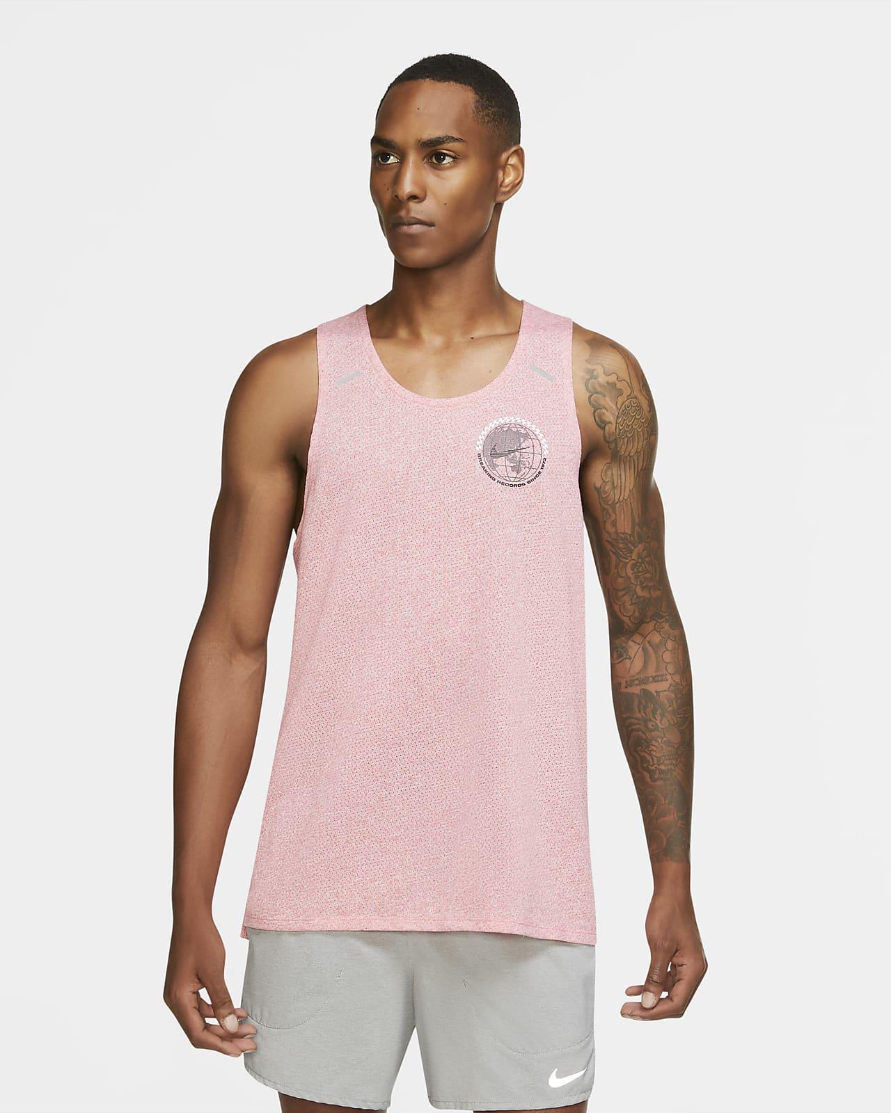 Camiseta de tirantes de running para hombre Nike Rise 365 Future Fast