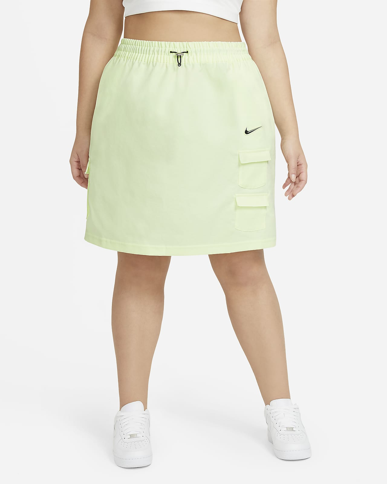 Nike Sportswear Swoosh skjørt til dame (Plus Size)