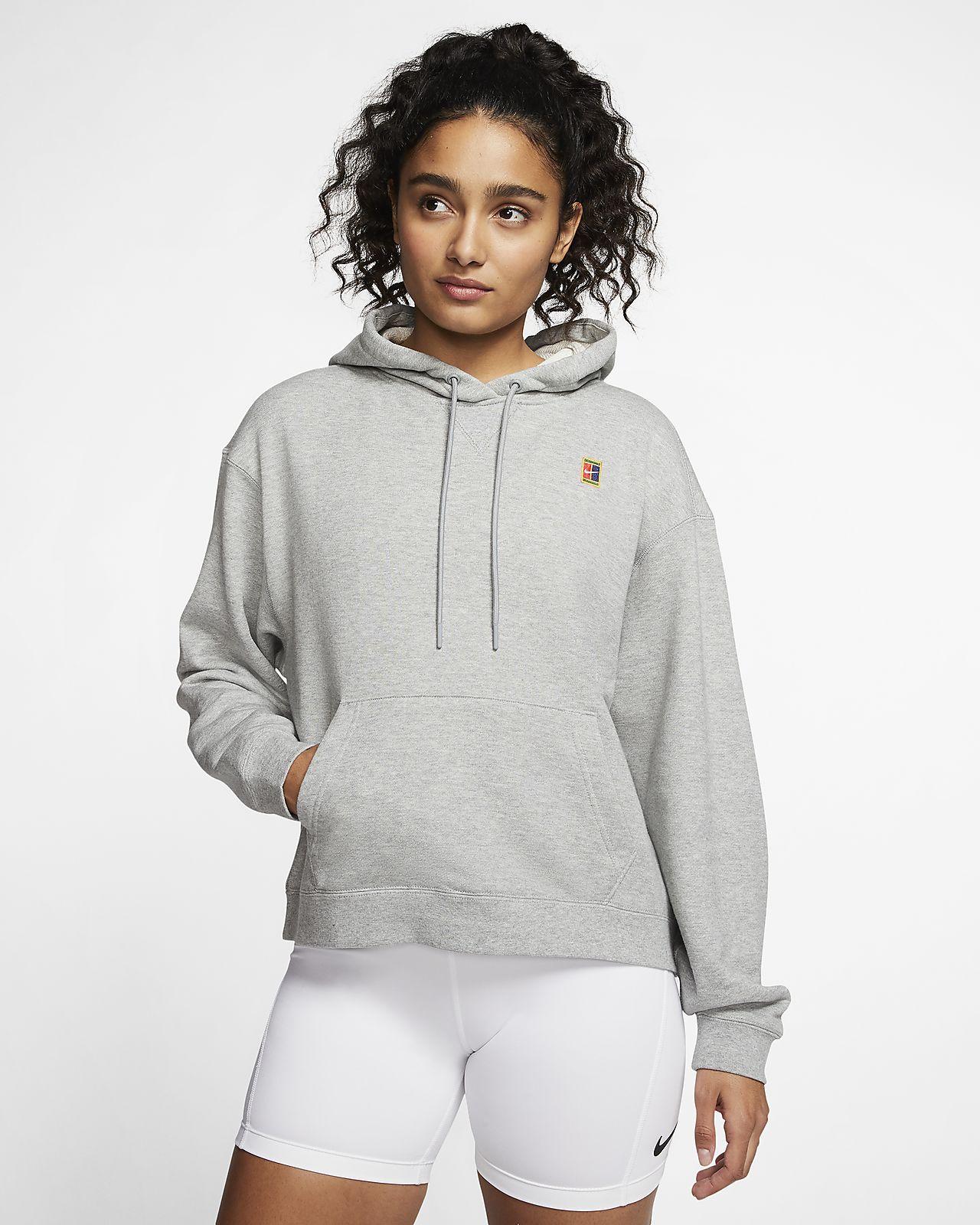 Sweat à capuche de tennis NikeCourt pour Femme