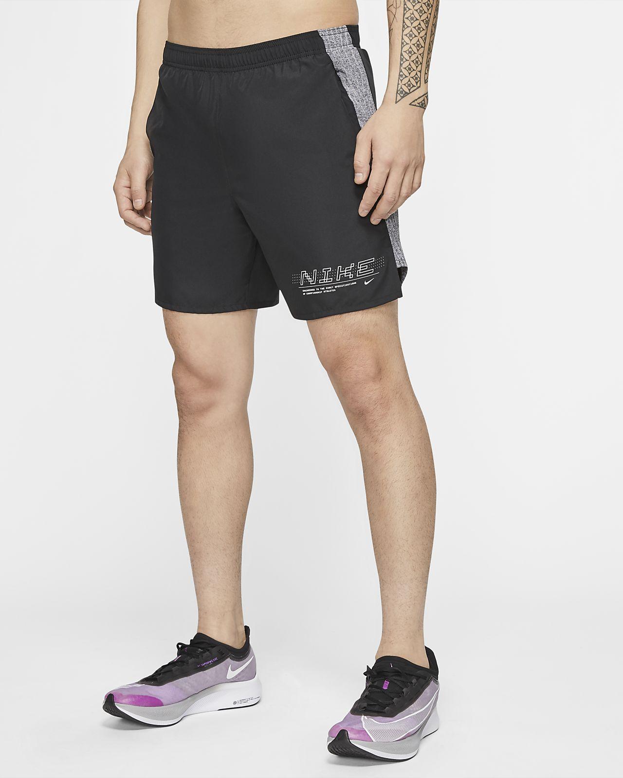 Nike Challenger 男款跑步短褲