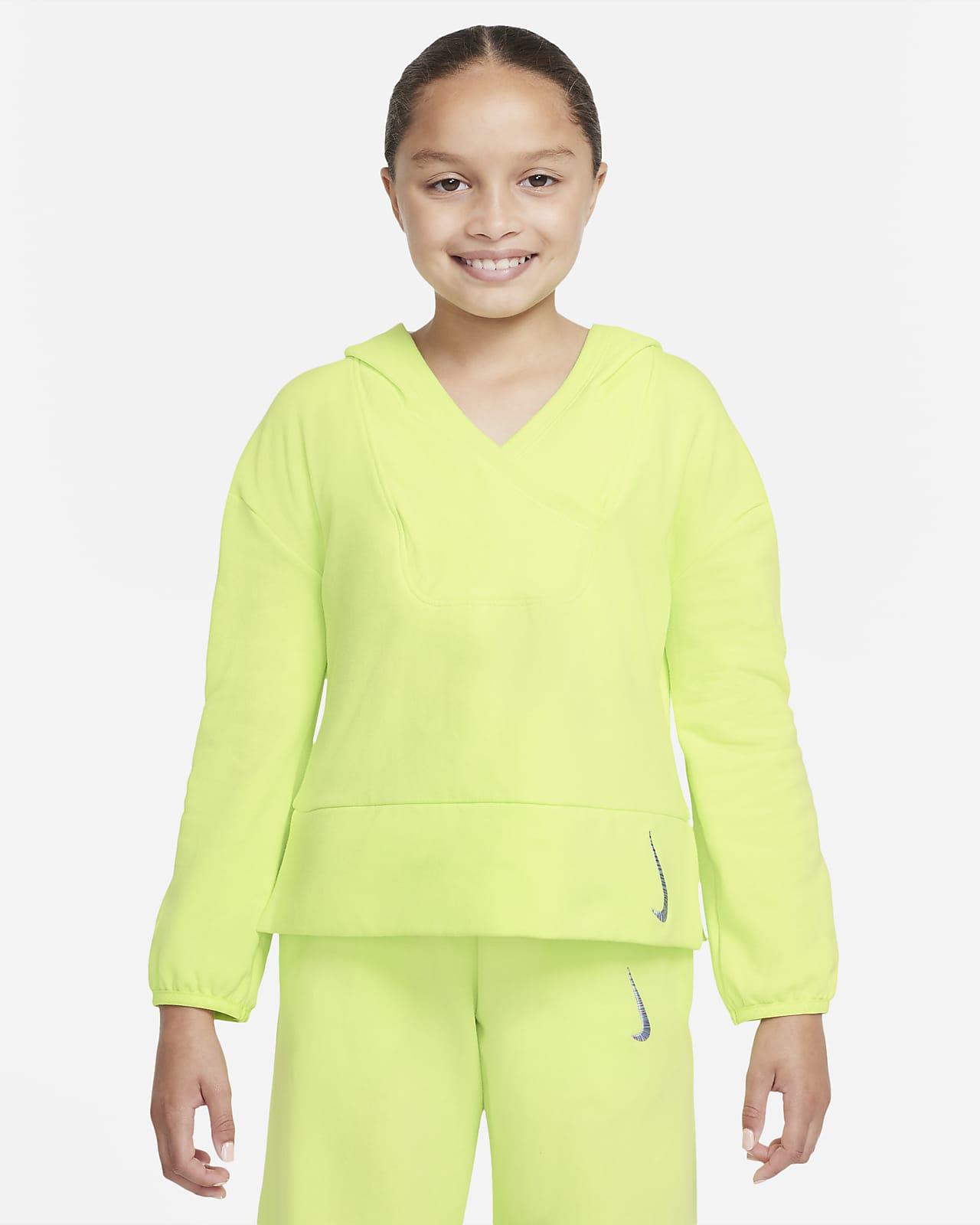 Nike Yoga Big Kids' (Girls') Fleece Hoodie