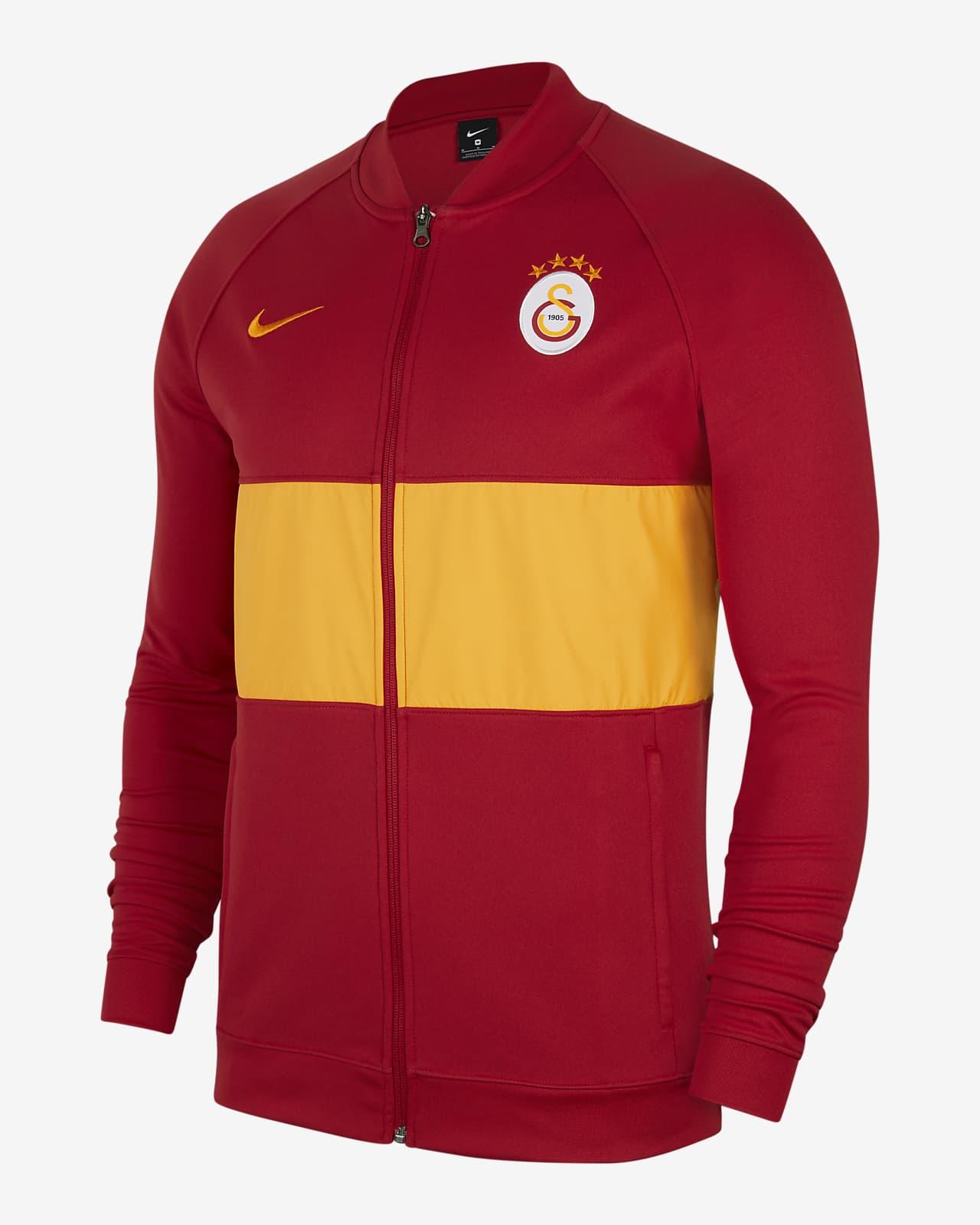 Galatasaray Men's Full-Zip Football Tracksuit Jacket