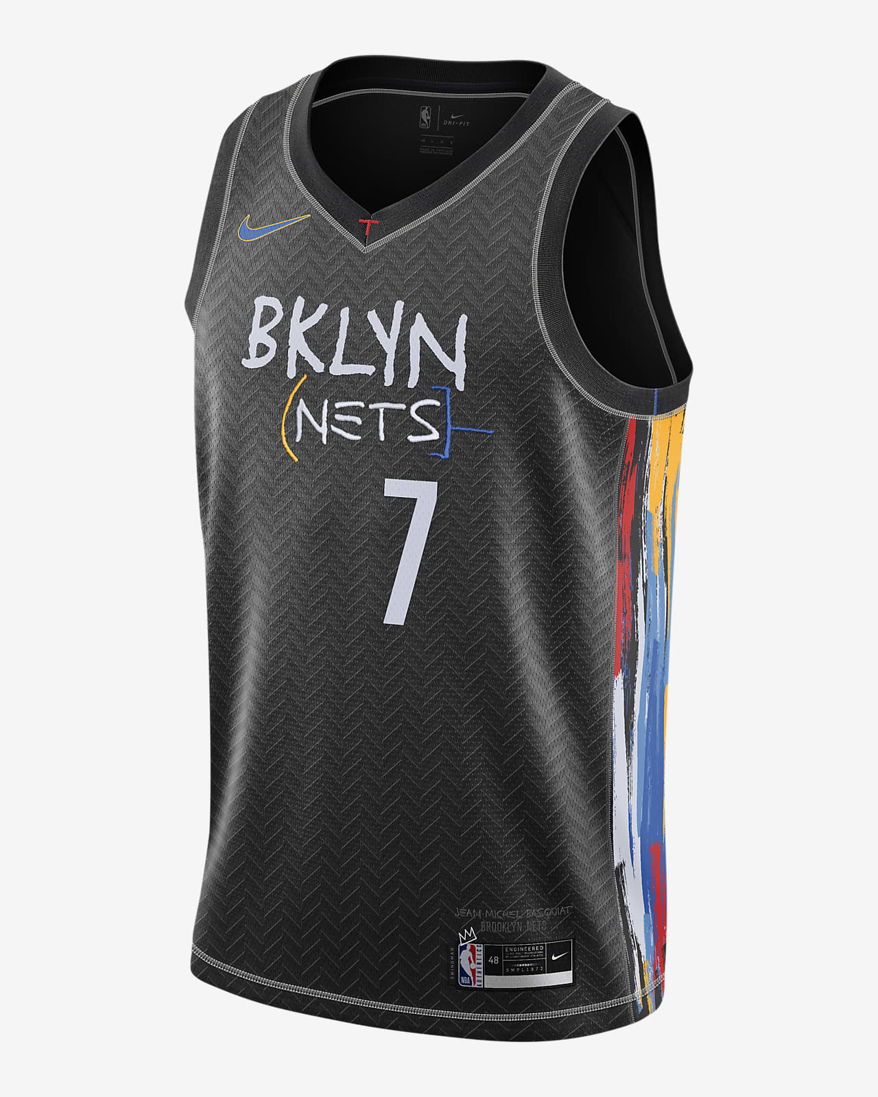 布鲁克林篮网队 City Edition Nike NBA Swingman Jersey 男子球衣