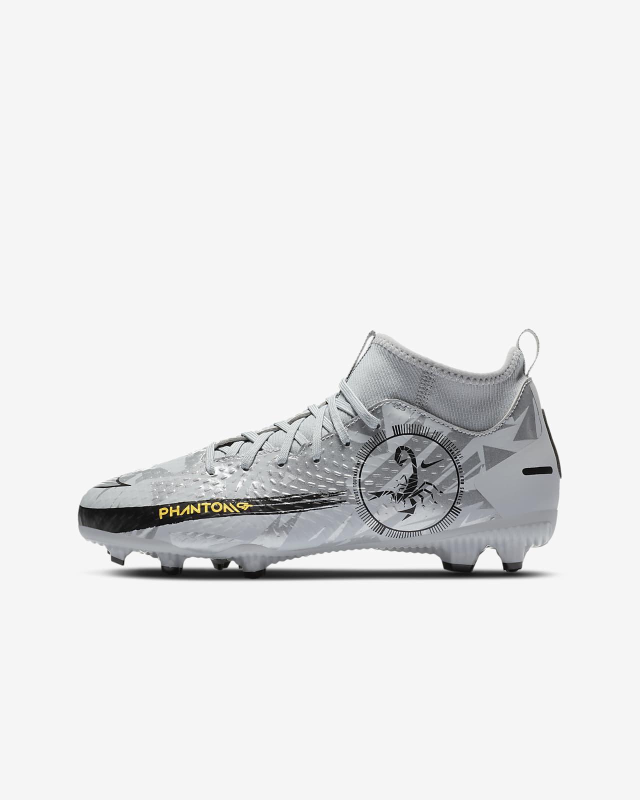 Fotbollssko för varierat underlag Nike Jr. Phantom Scorpion Academy Dynamic Fit MG för ungdom/barn