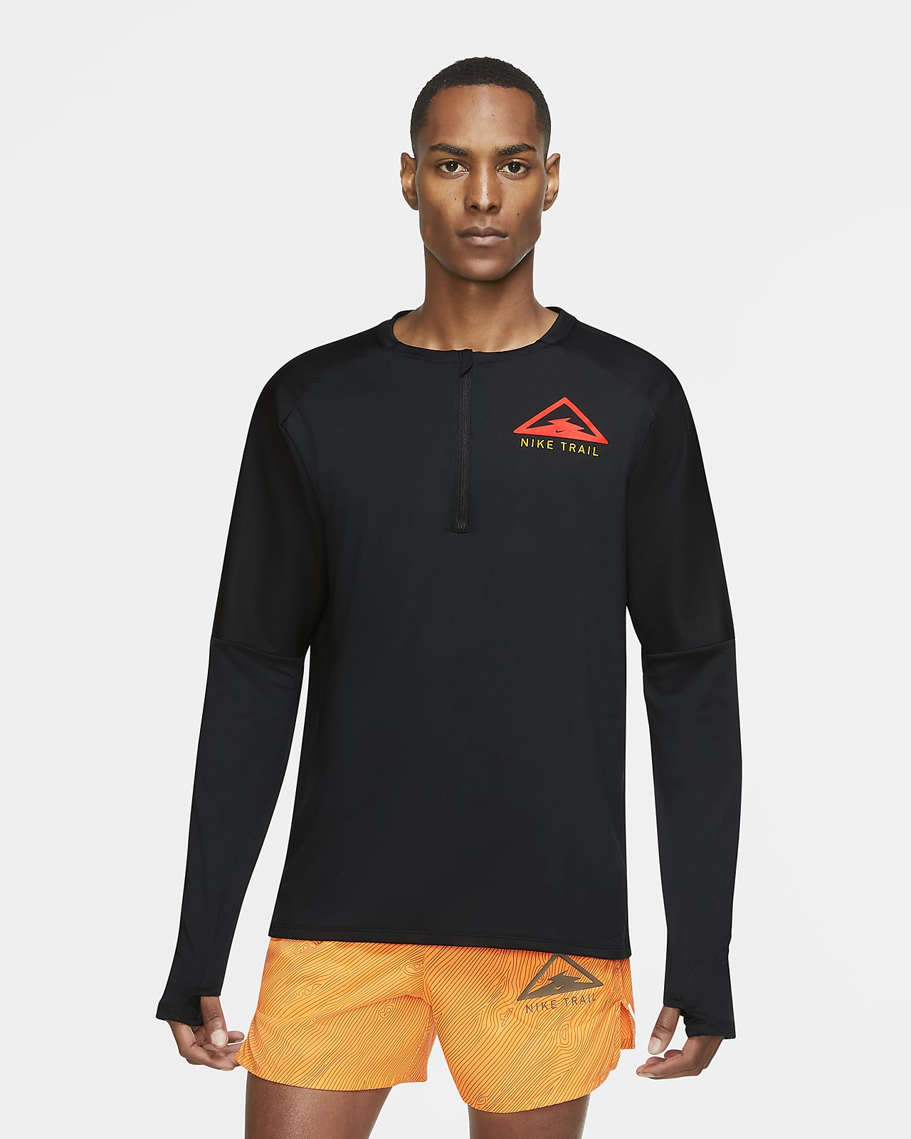 Nike Element Trail 男子长袖跑步上衣