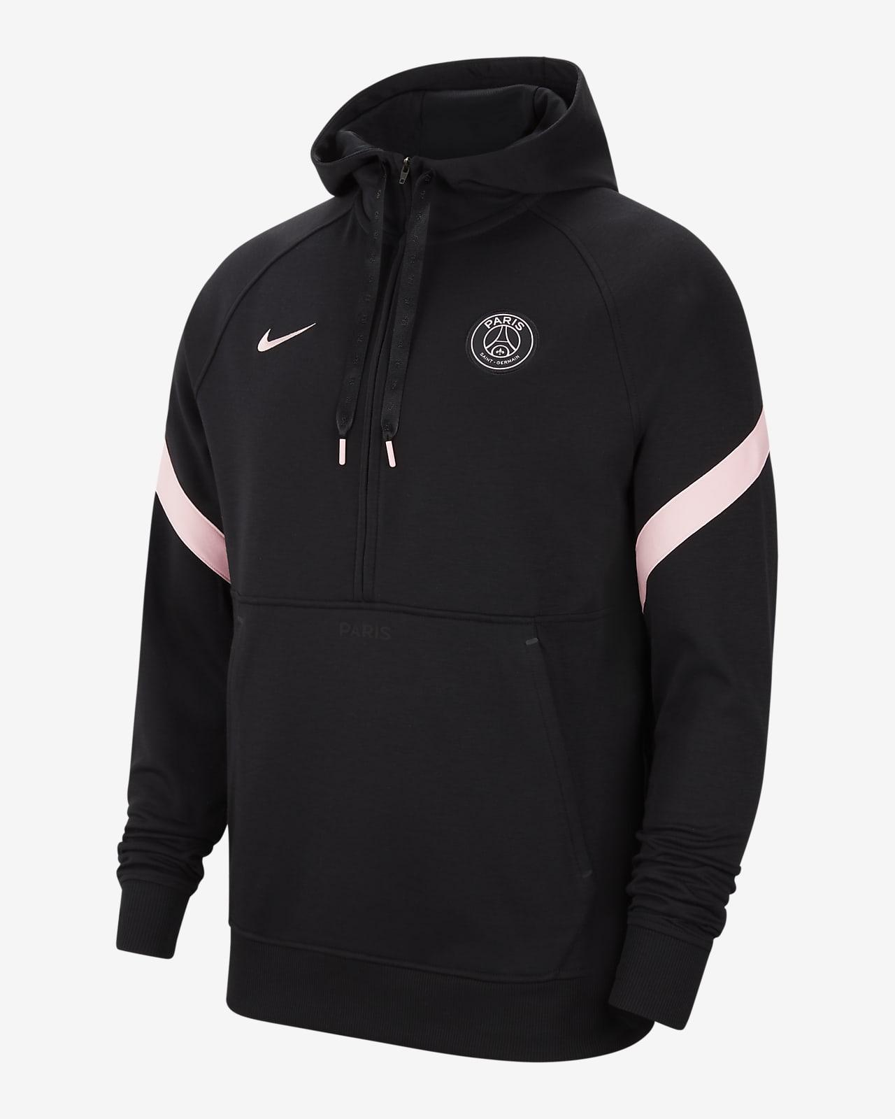 Sudadera con gorro de fútbol de tejido Fleece Nike Dri-FIT para hombre Paris Saint-Germain