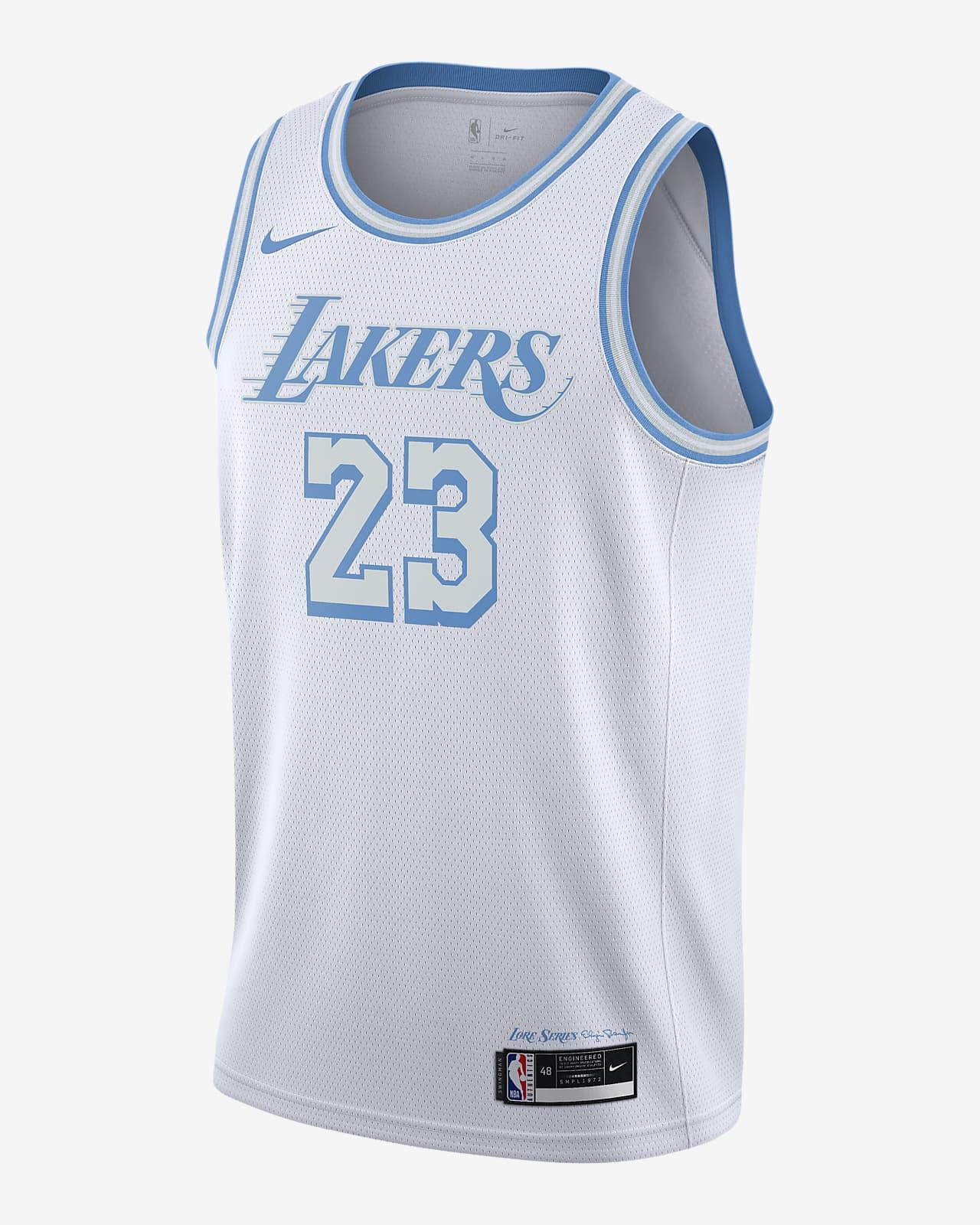Los Angeles Lakers City Edition Nike NBA Swingman Jersey