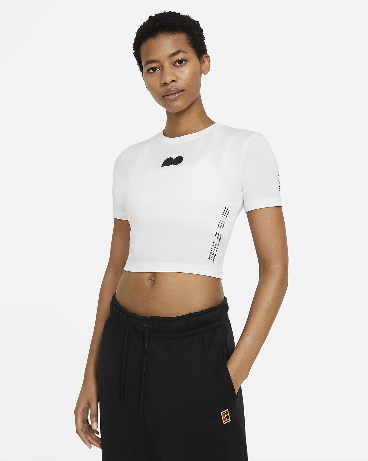 Tee-shirt de tennis court Naomi Osaka