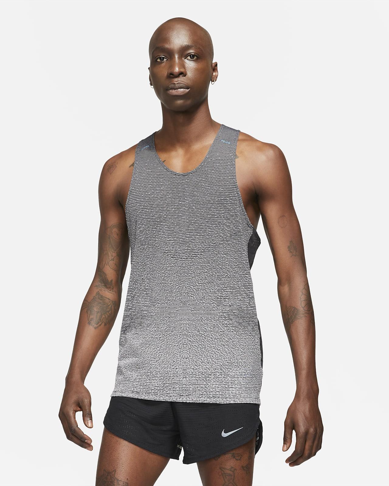 เสื้อกล้ามวิ่งผู้ชาย Nike Run Division Pinnacle