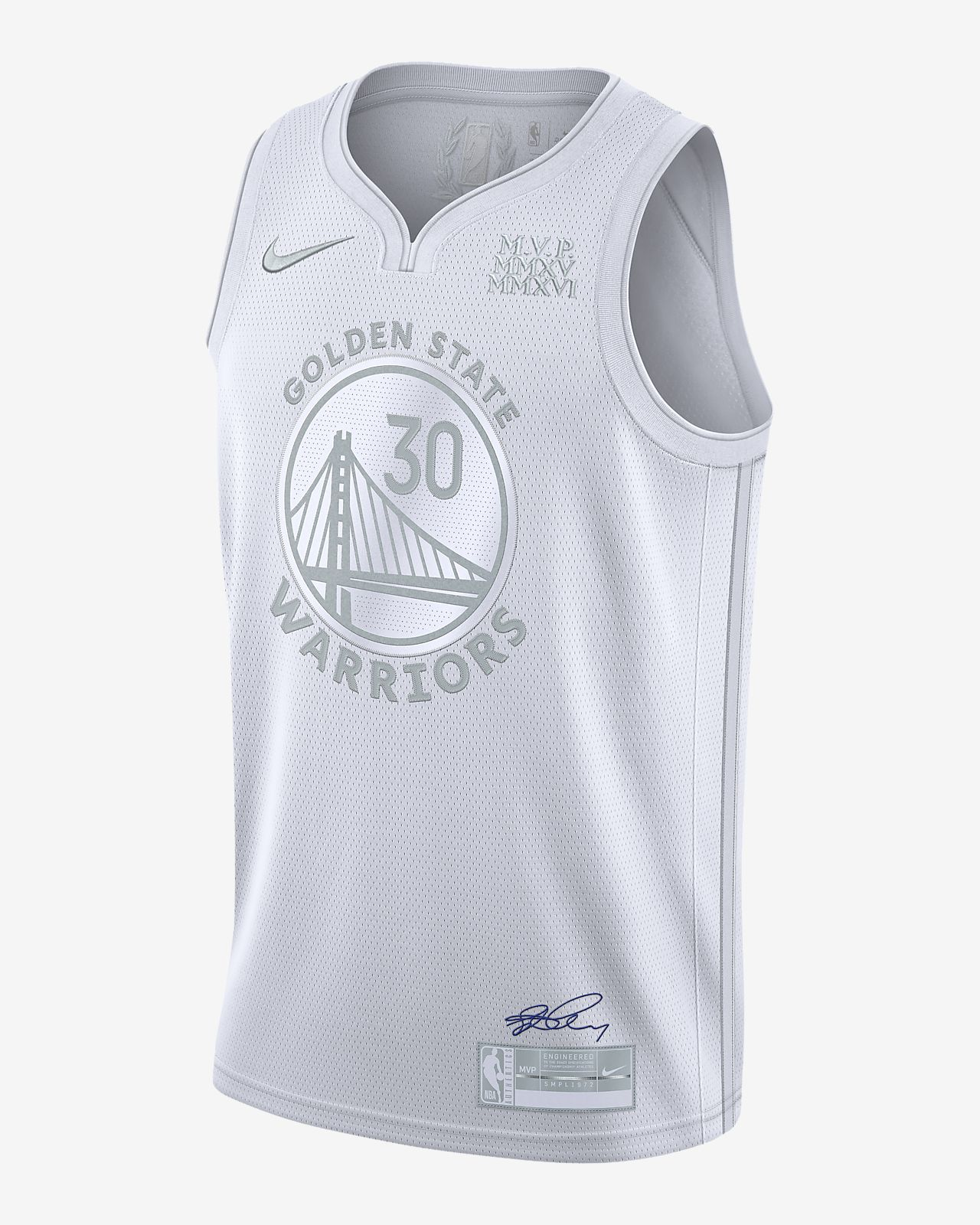 Playera Nike NBA para hombre Stephen Curry Warriors MVP