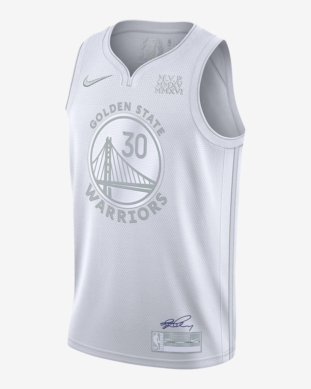 Stephen Curry Warriors MVP 男款 Nike NBA 球衣