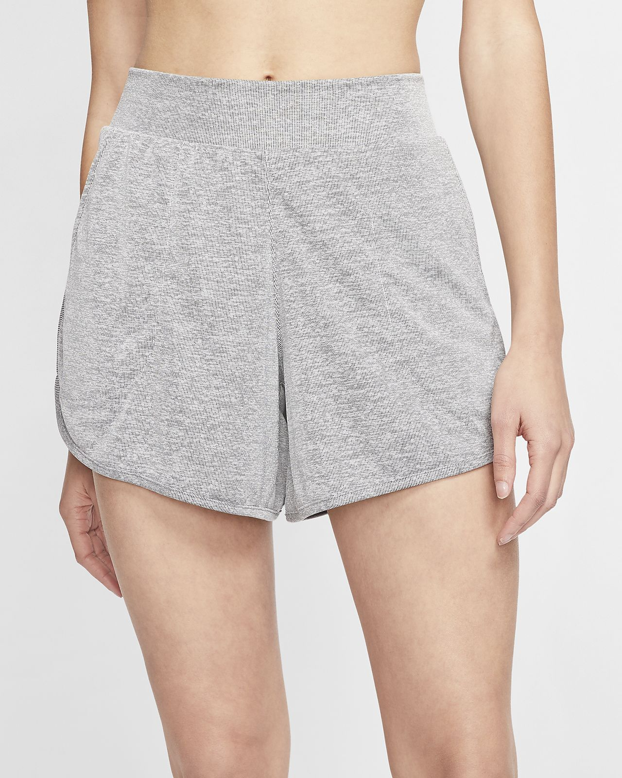 Nike Yoga Women S Ribbed Shorts Nike Hu