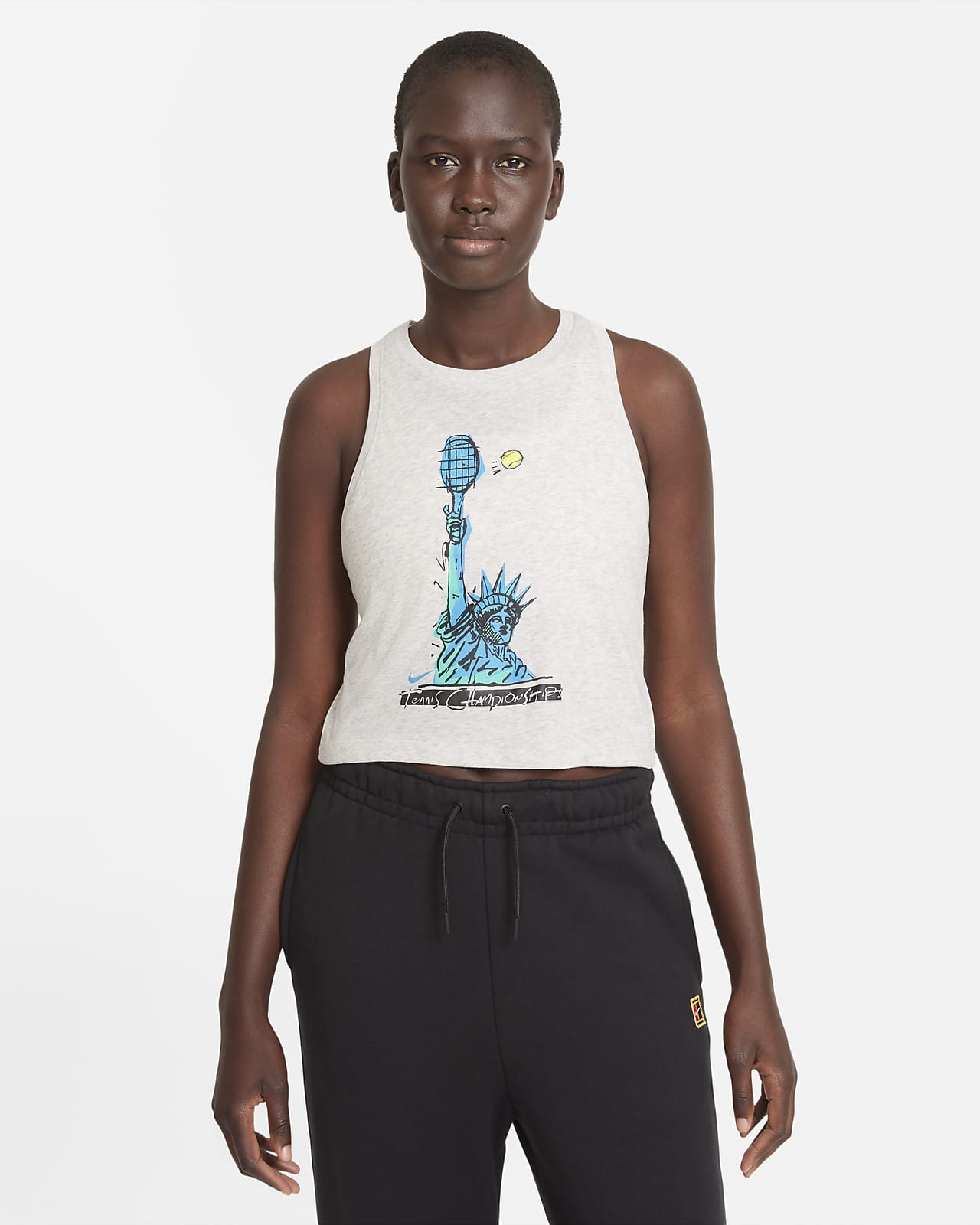 Γυναικείο φανελάκι τένις NikeCourt Dri-FIT