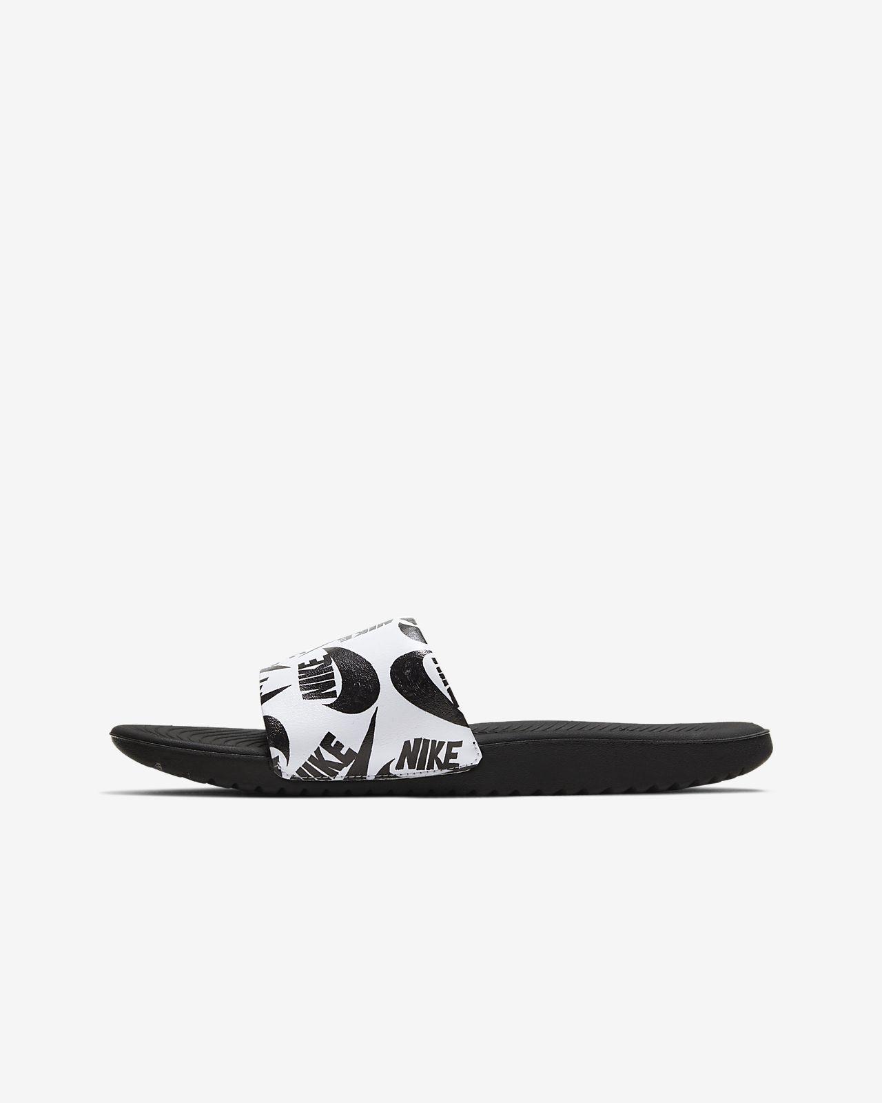 Chancla para niños talla pequeña/grande Nike Kawa SE JDI