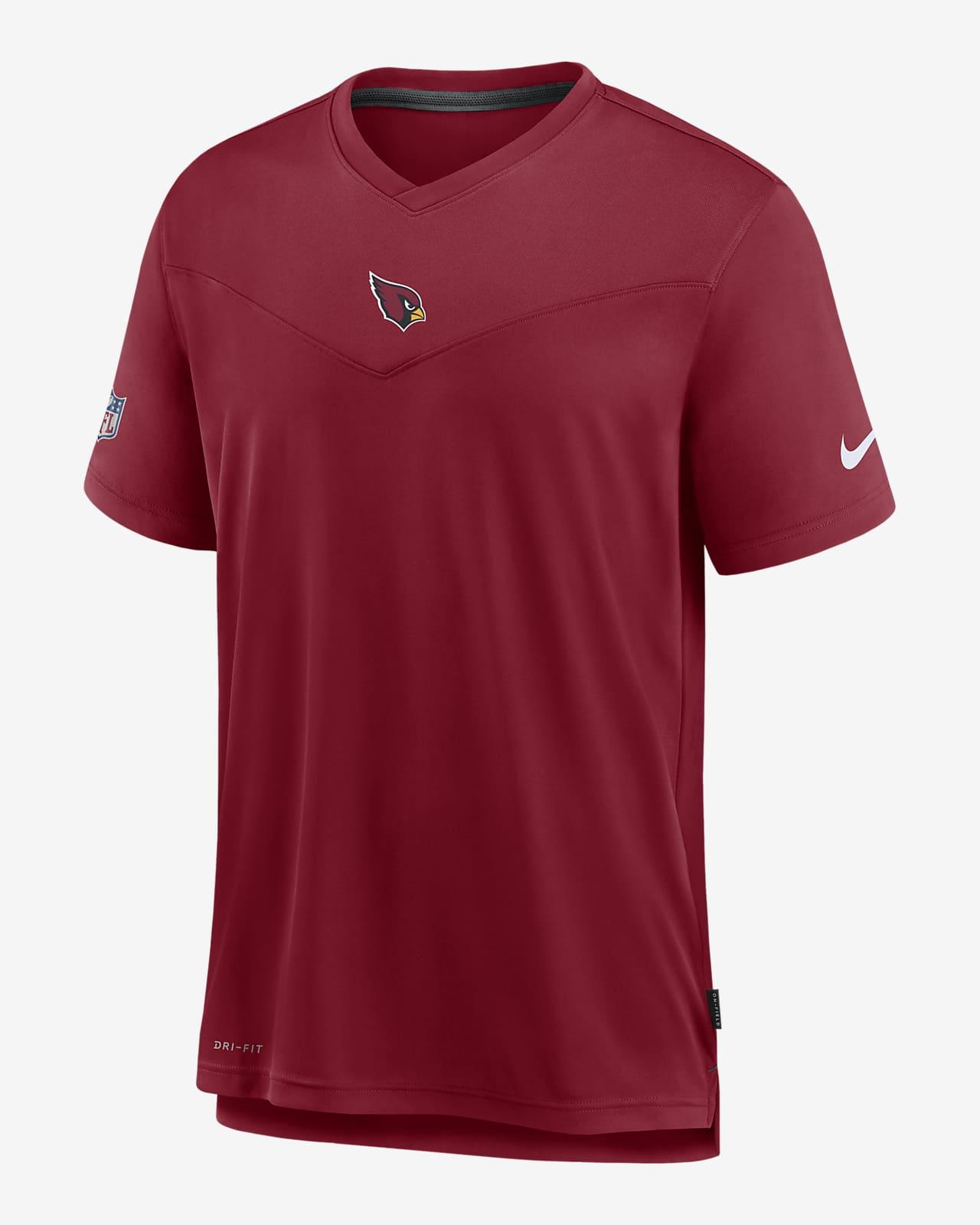 Nike Dri-FIT Sideline Coaches (NFL Arizona Cardinals) Men's V-Neck T-Shirt