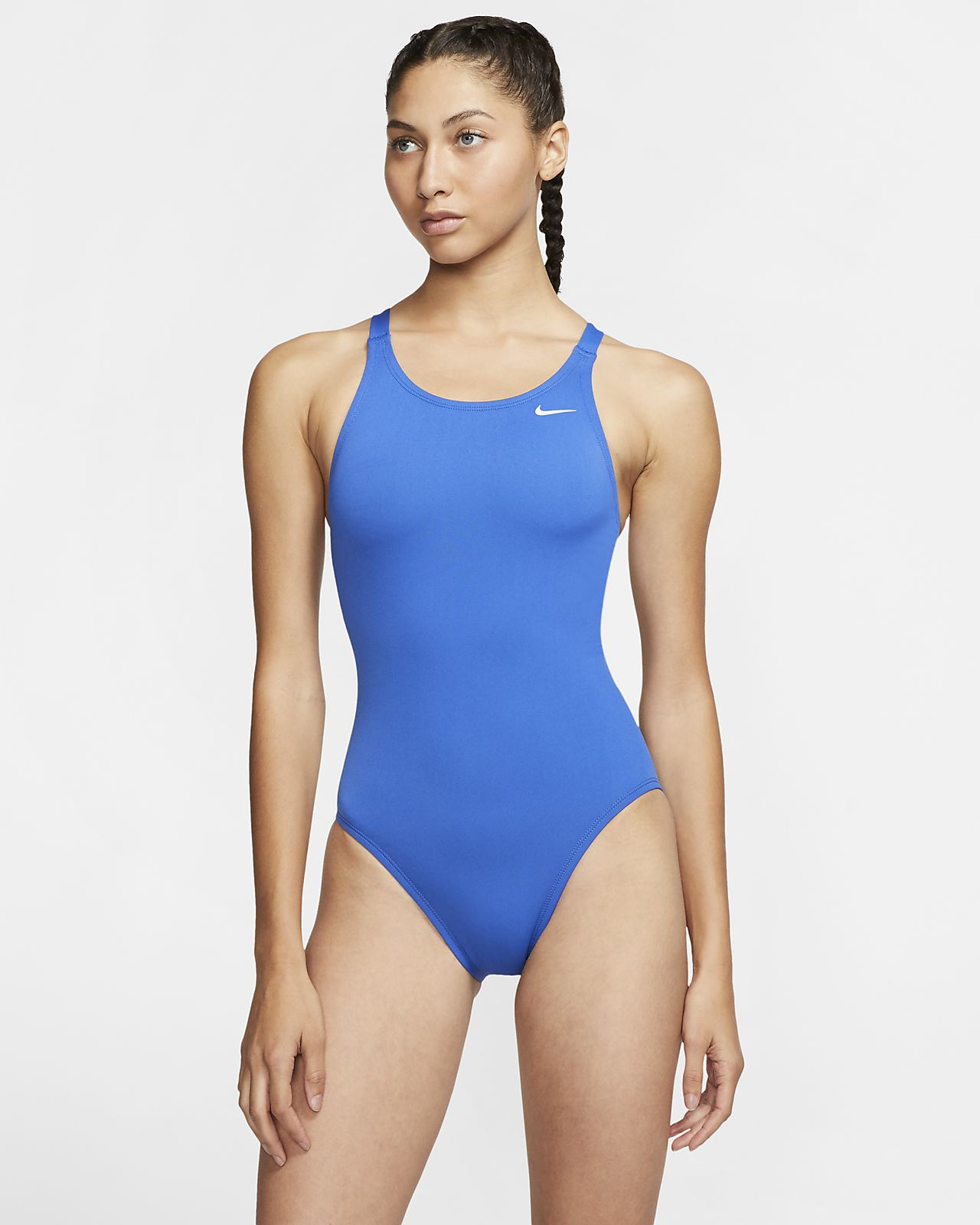 Nike Poly Solid Women's Fastback 1-Piece Swimsuit